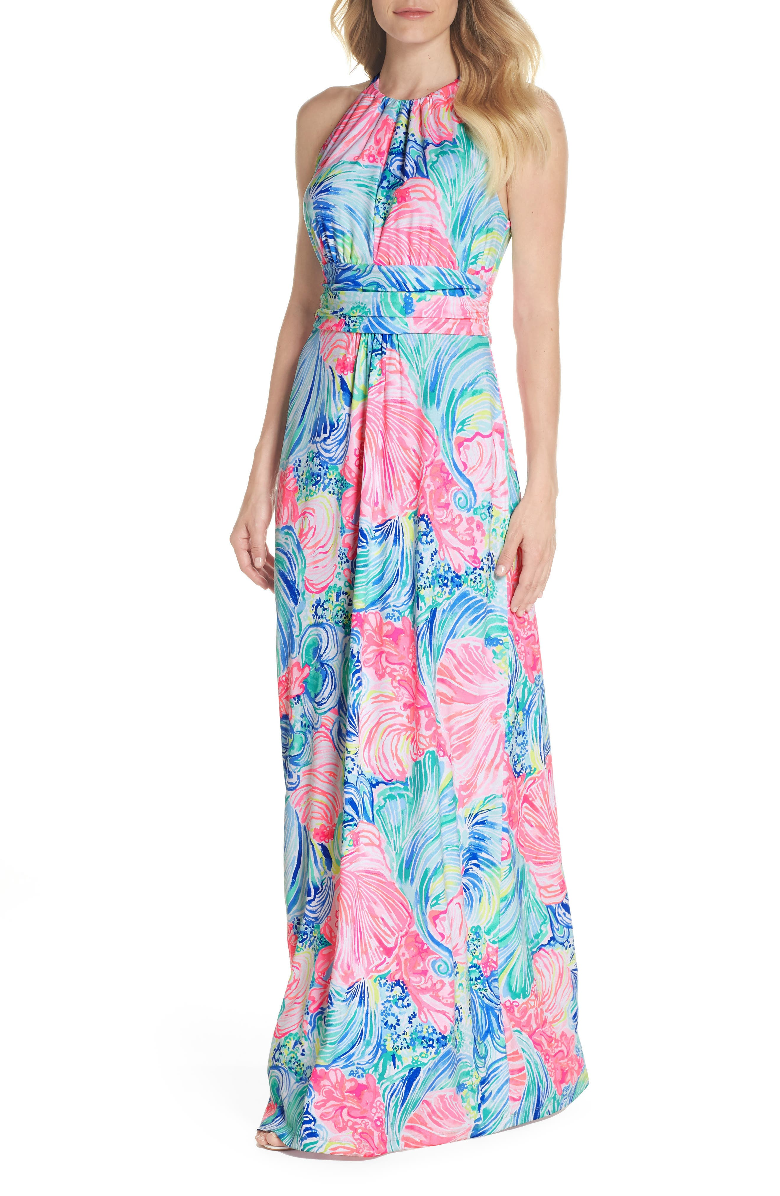 Lilly Pulitzer Martina Maxi Dress, Pink