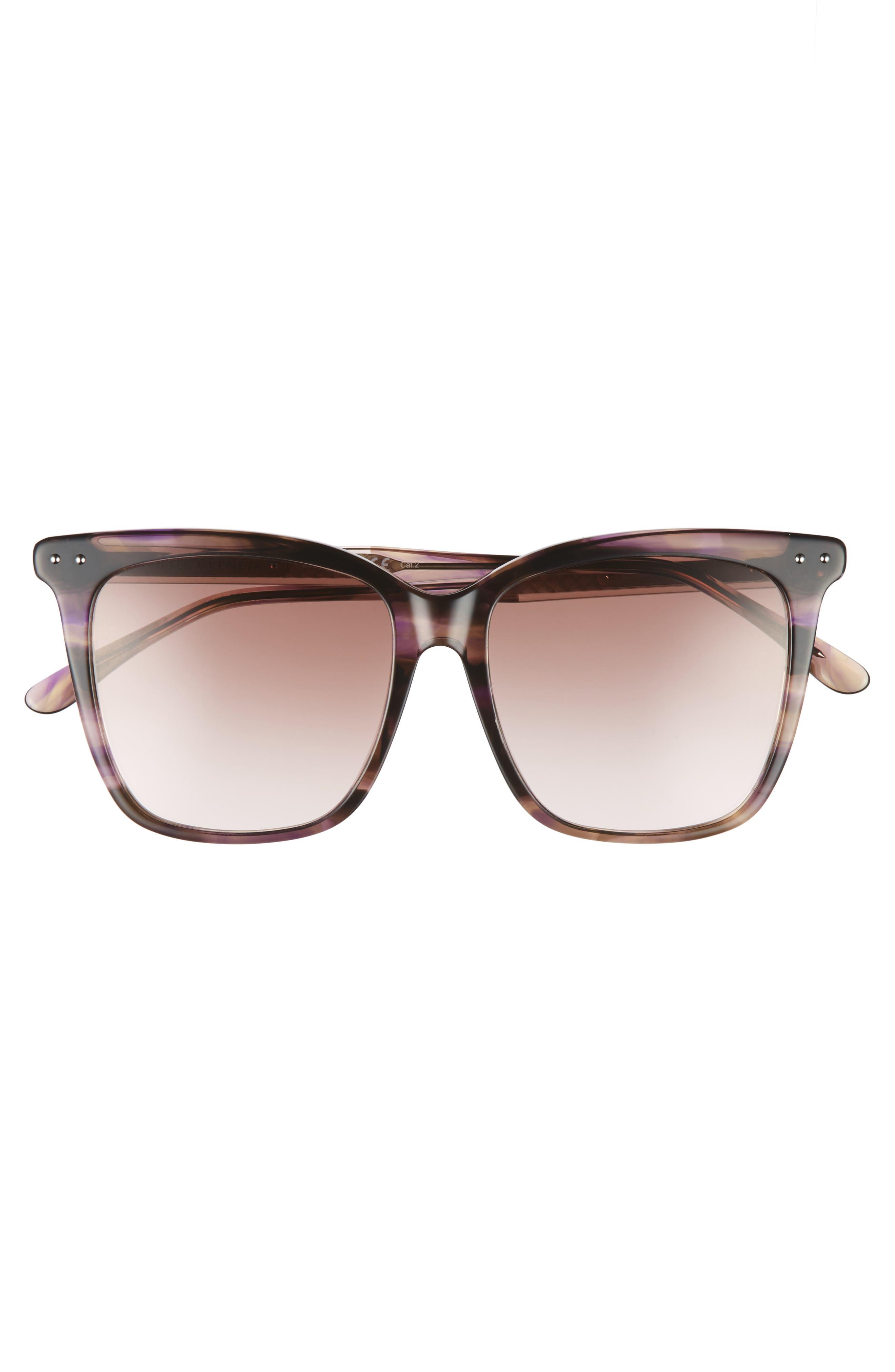 54mm Square Sunglasses,                             Alternate thumbnail 8, color,
