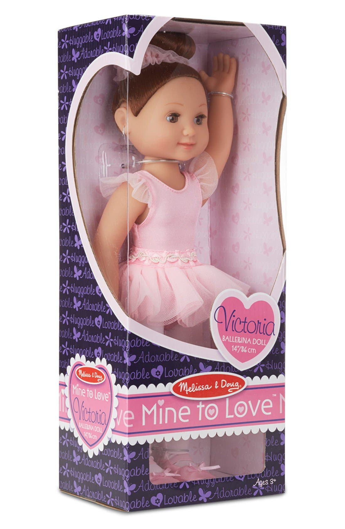 'Mine to Love - Victoria' Ballerina Doll,                             Alternate thumbnail 2, color,                             PINK
