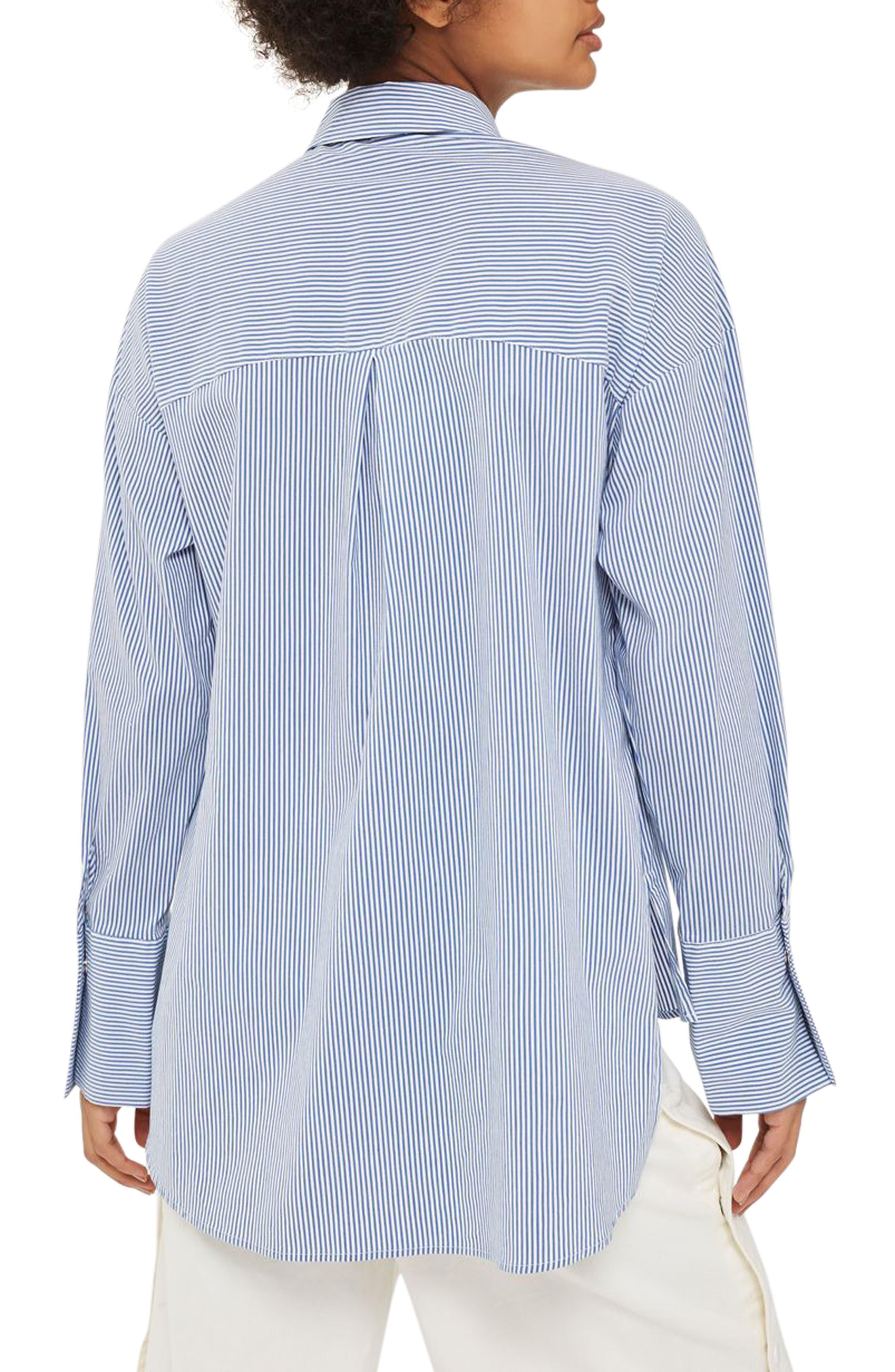 Side Lace-Up Shirt,                             Alternate thumbnail 2, color,                             400