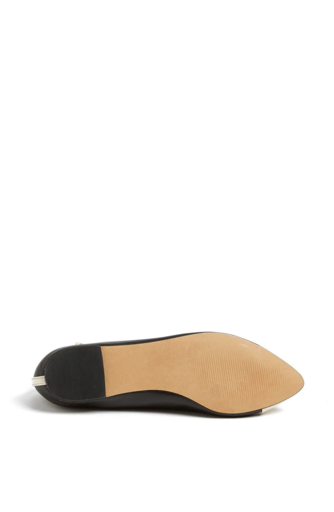 Julianne Hough for Sole Society 'Addy' Flat,                             Alternate thumbnail 3, color,                             001