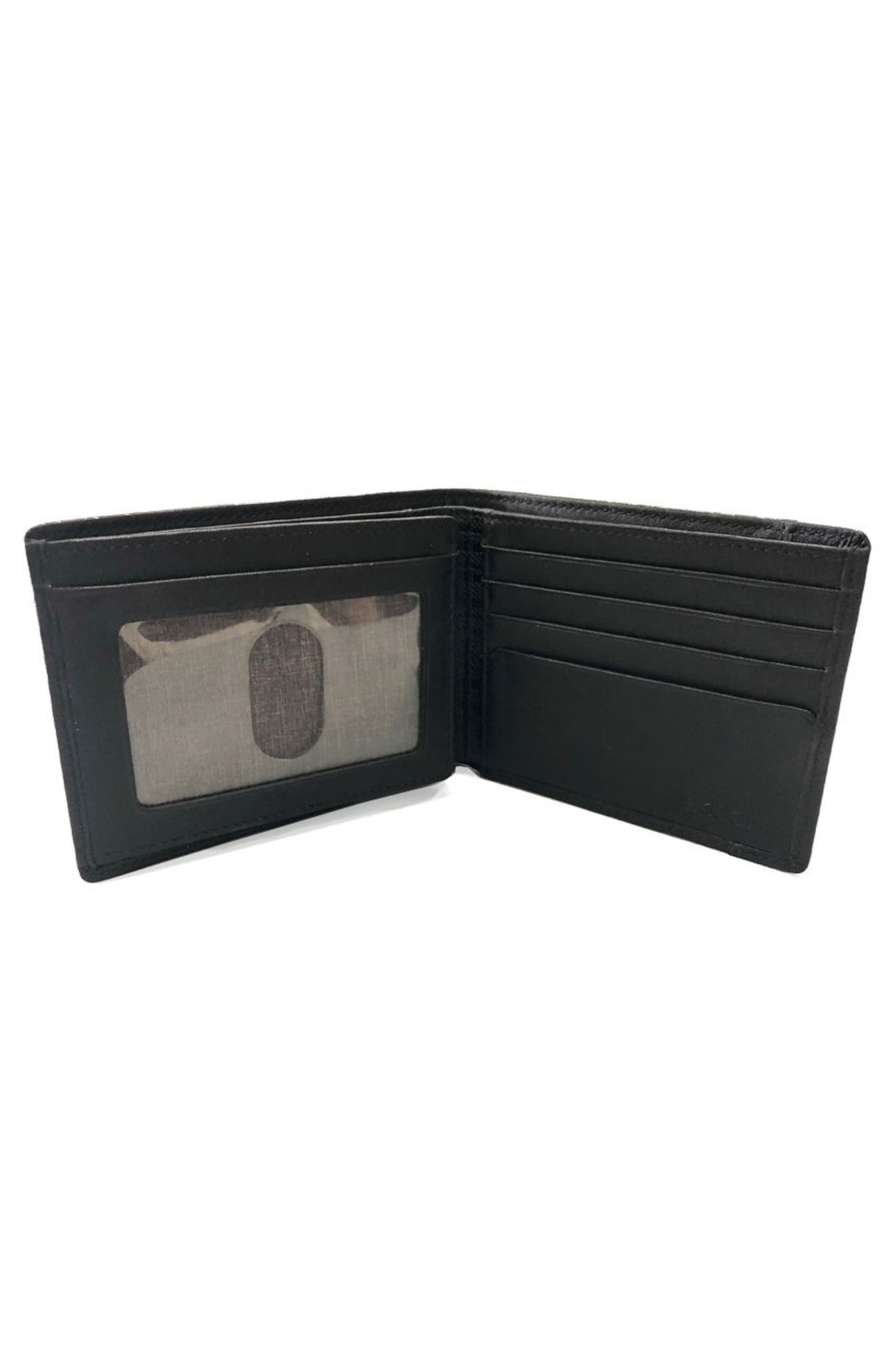Grant Leather Wallet,                             Alternate thumbnail 2, color,                             001