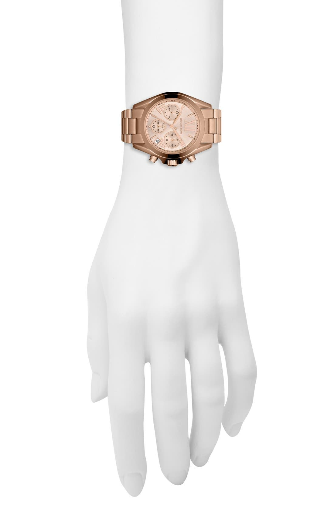 'Bradshaw - Mini' Chronograph Bracelet Watch, 36mm,                             Alternate thumbnail 18, color,