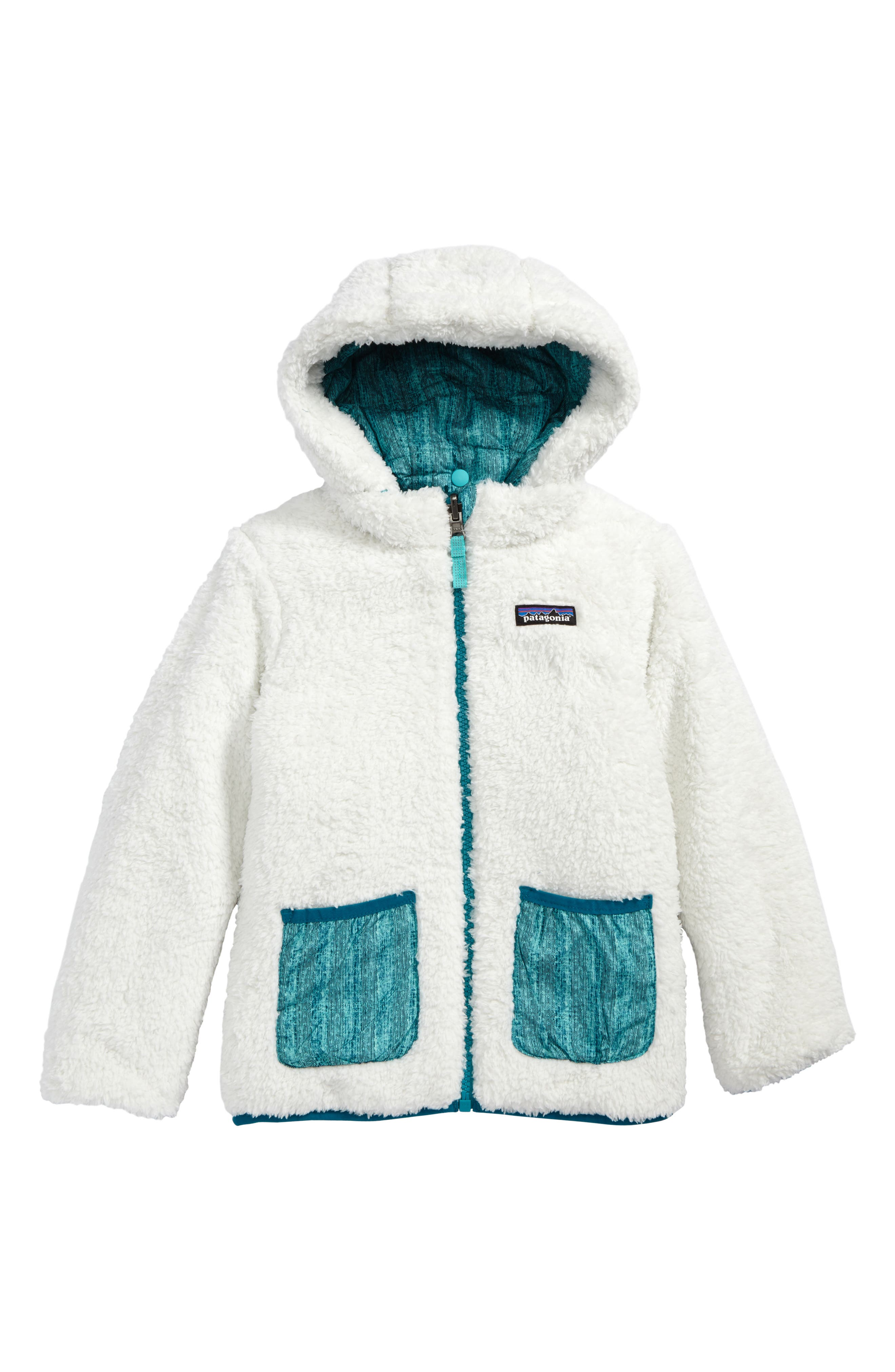 Dream Song Water Repellent Reversible Jacket,                             Alternate thumbnail 3, color,
