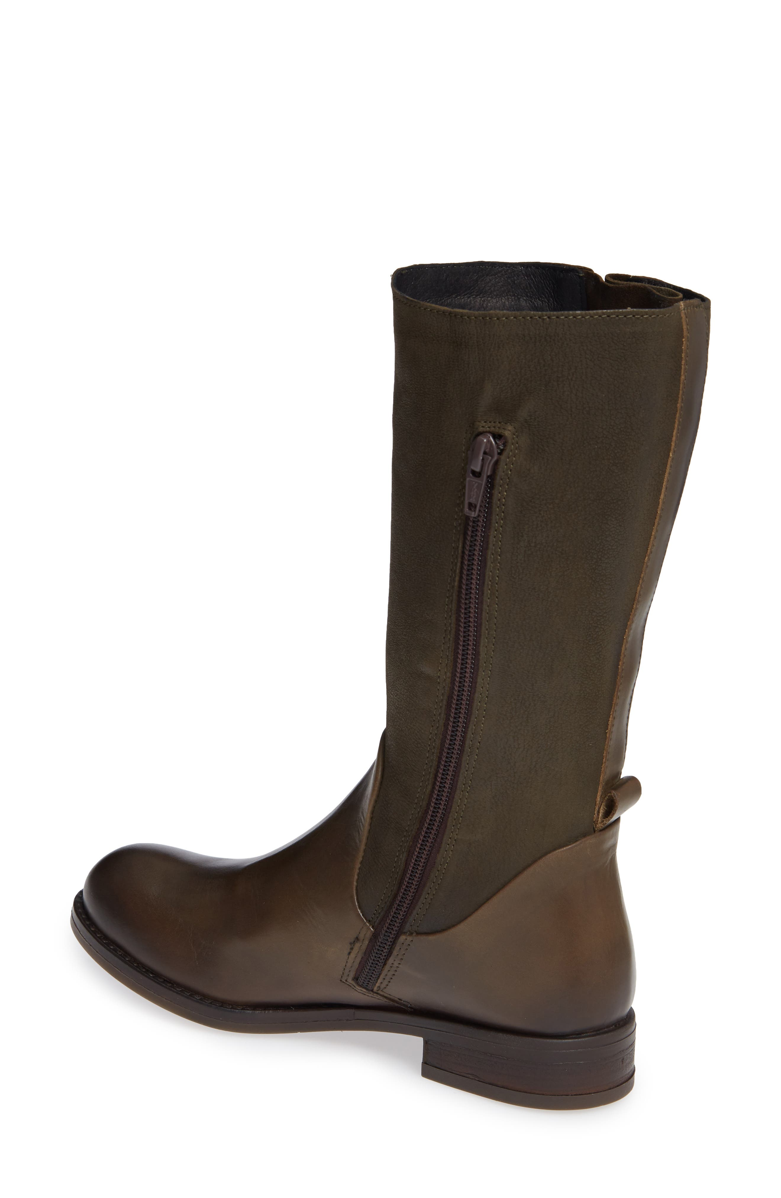 Aedi Boot,                             Alternate thumbnail 2, color,                             OLIVE/ SEAWEED LEATHER