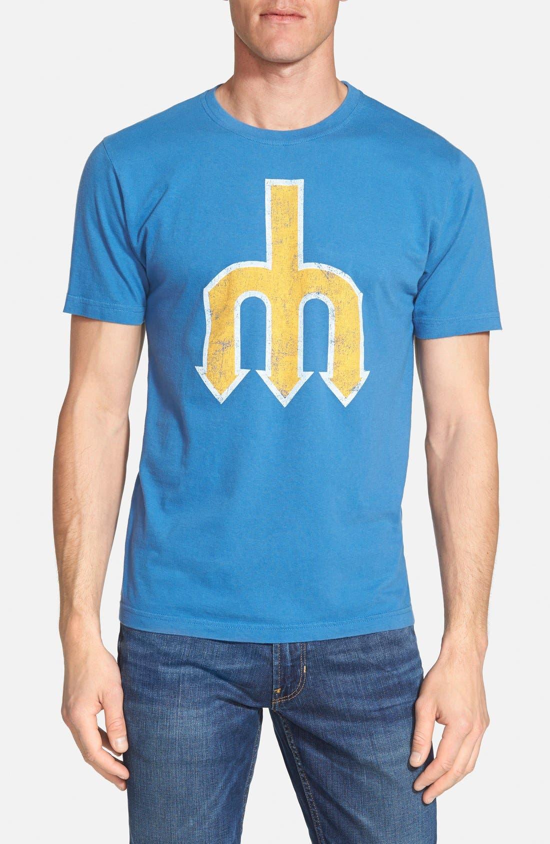 'Seattle Mariners - Brass Tacks' T-Shirt,                             Main thumbnail 1, color,                             450