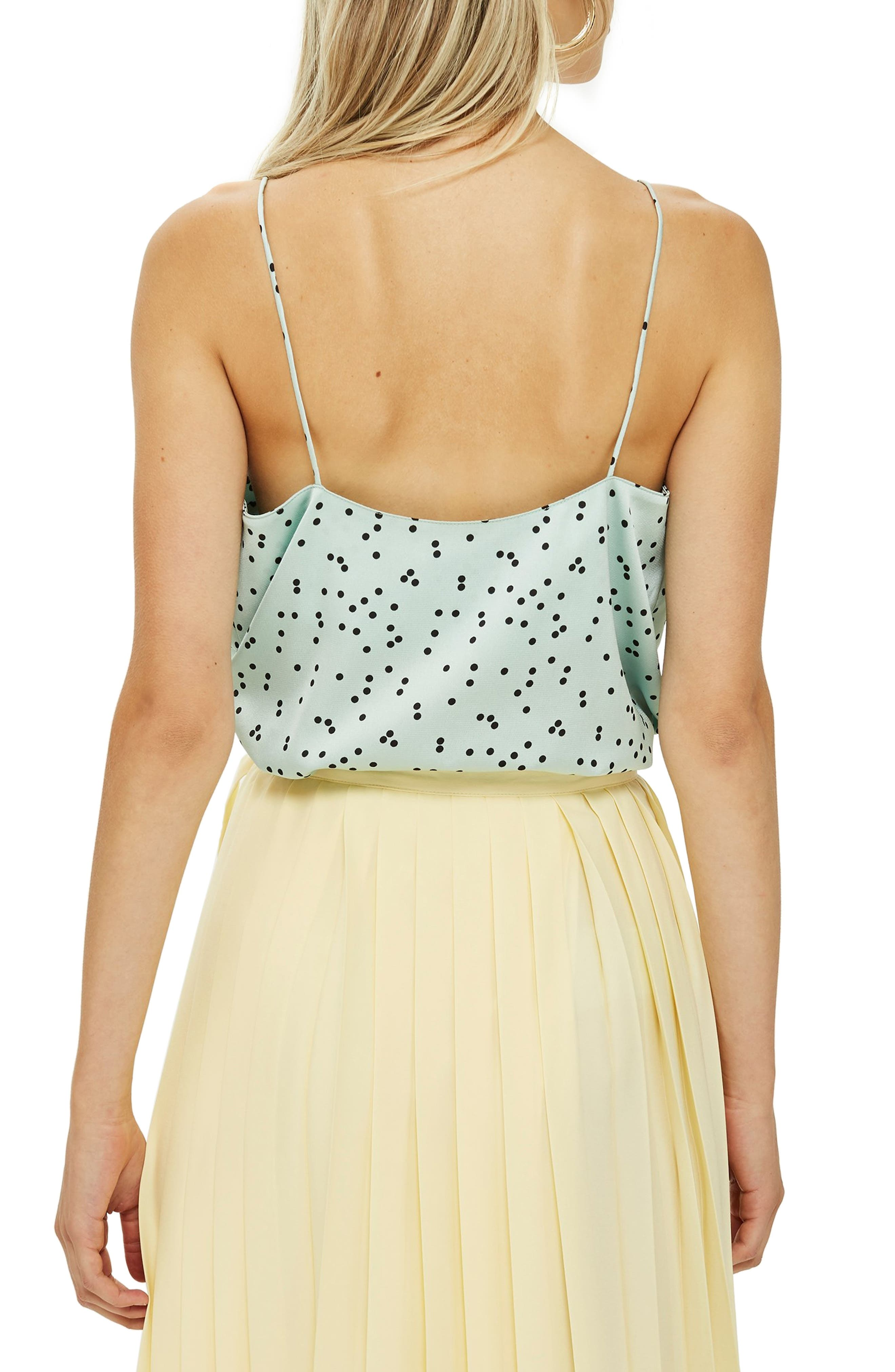 Patterned Camisole,                             Alternate thumbnail 2, color,                             MINT