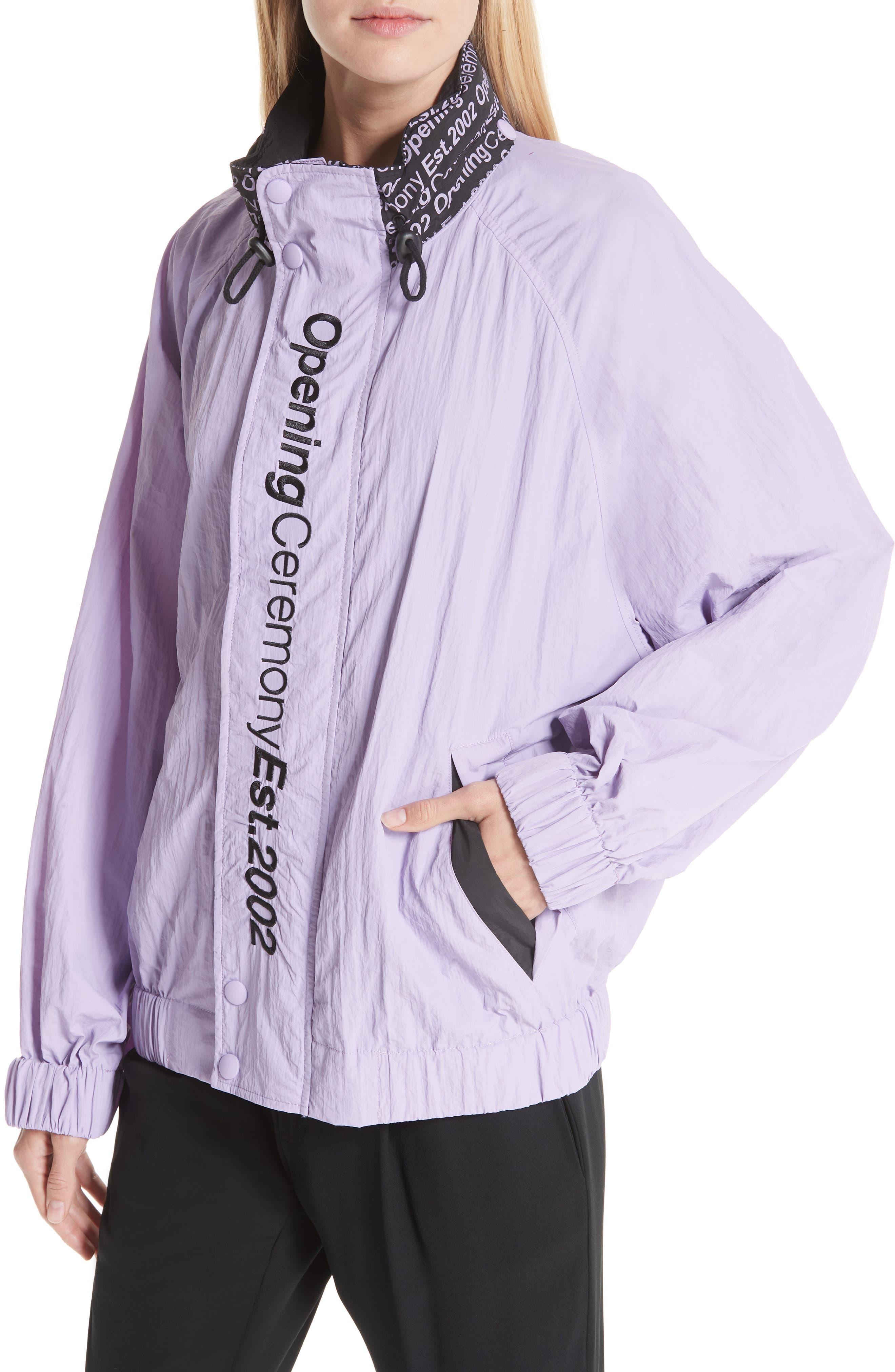 Crinkle Nylon Wind Jacket,                             Alternate thumbnail 4, color,                             531
