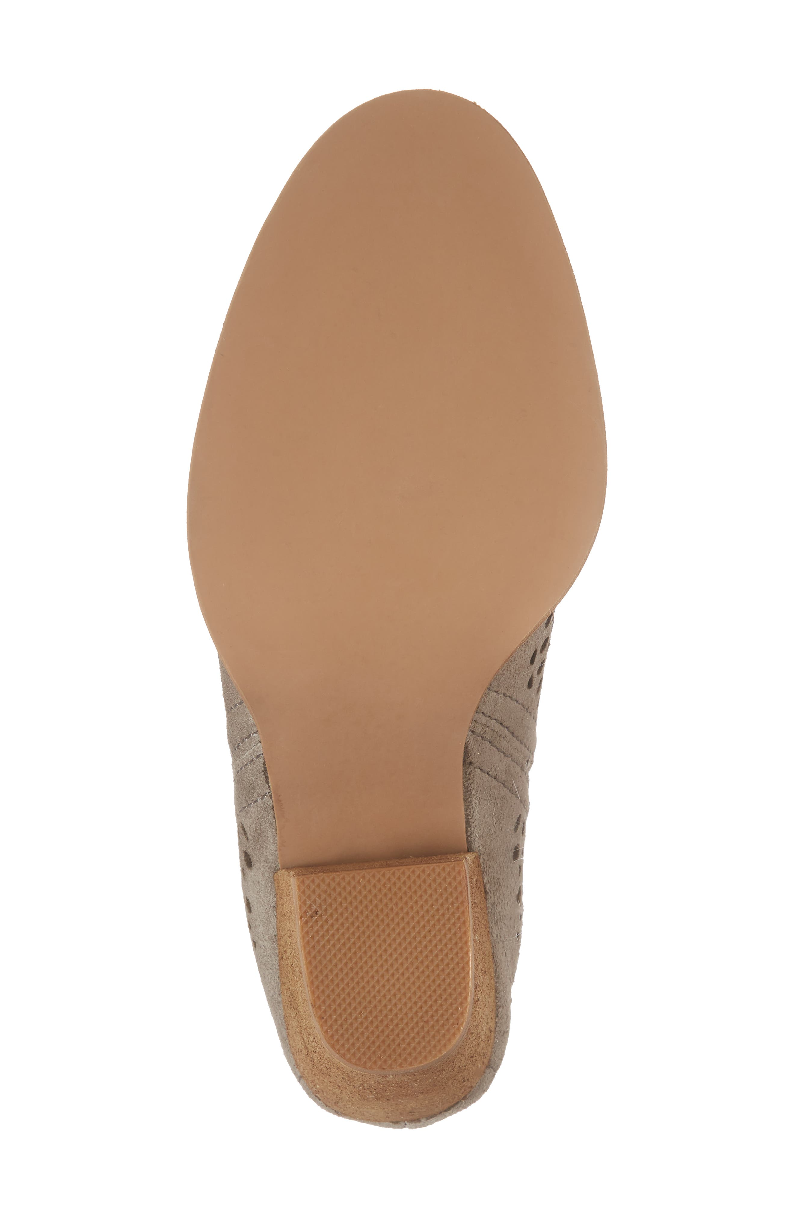Rosalee Bootie,                             Alternate thumbnail 6, color,                             TAUPE SUEDE