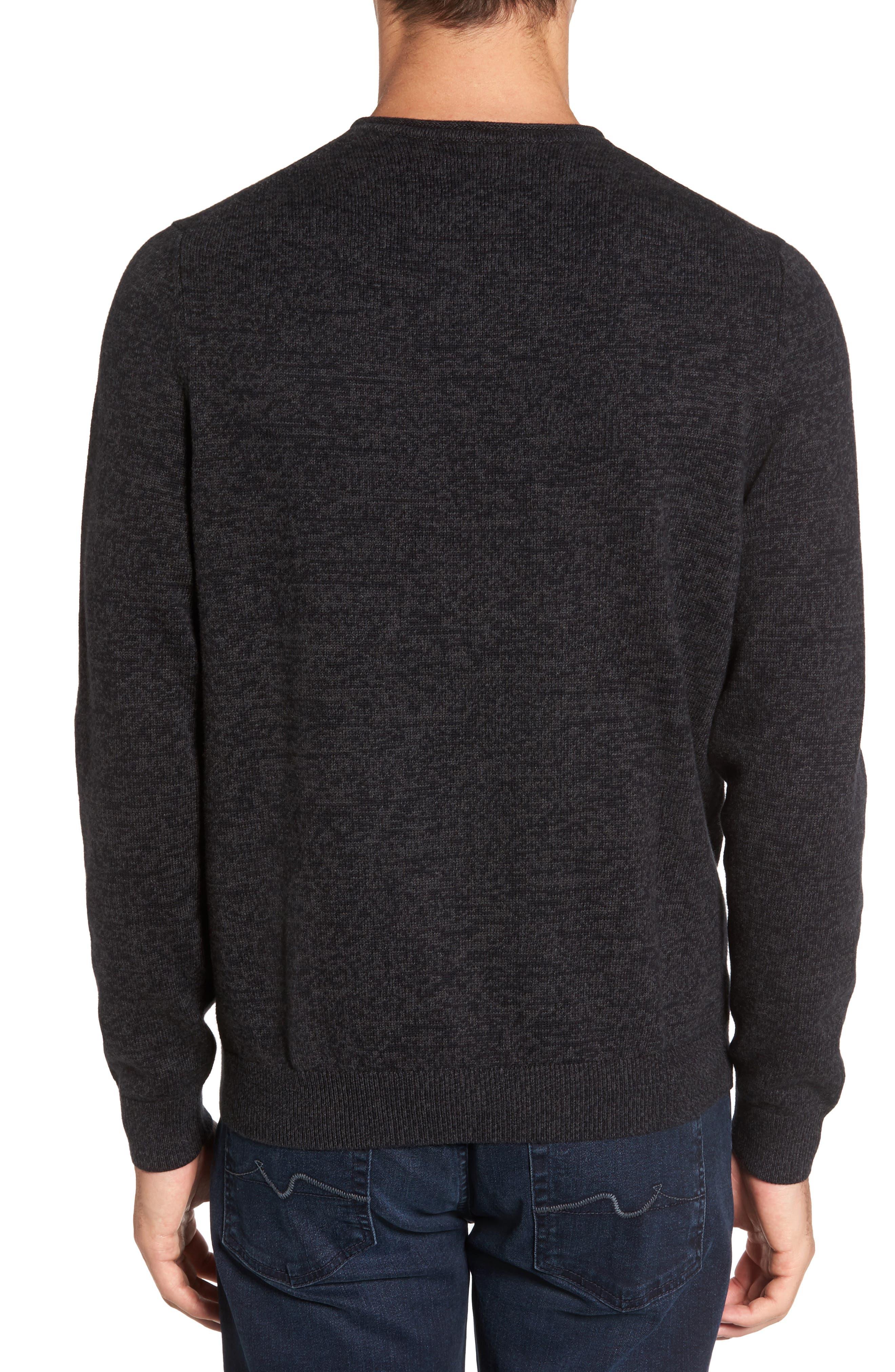 Cotton & Cashmere Roll Neck Sweater,                             Alternate thumbnail 2, color,                             021