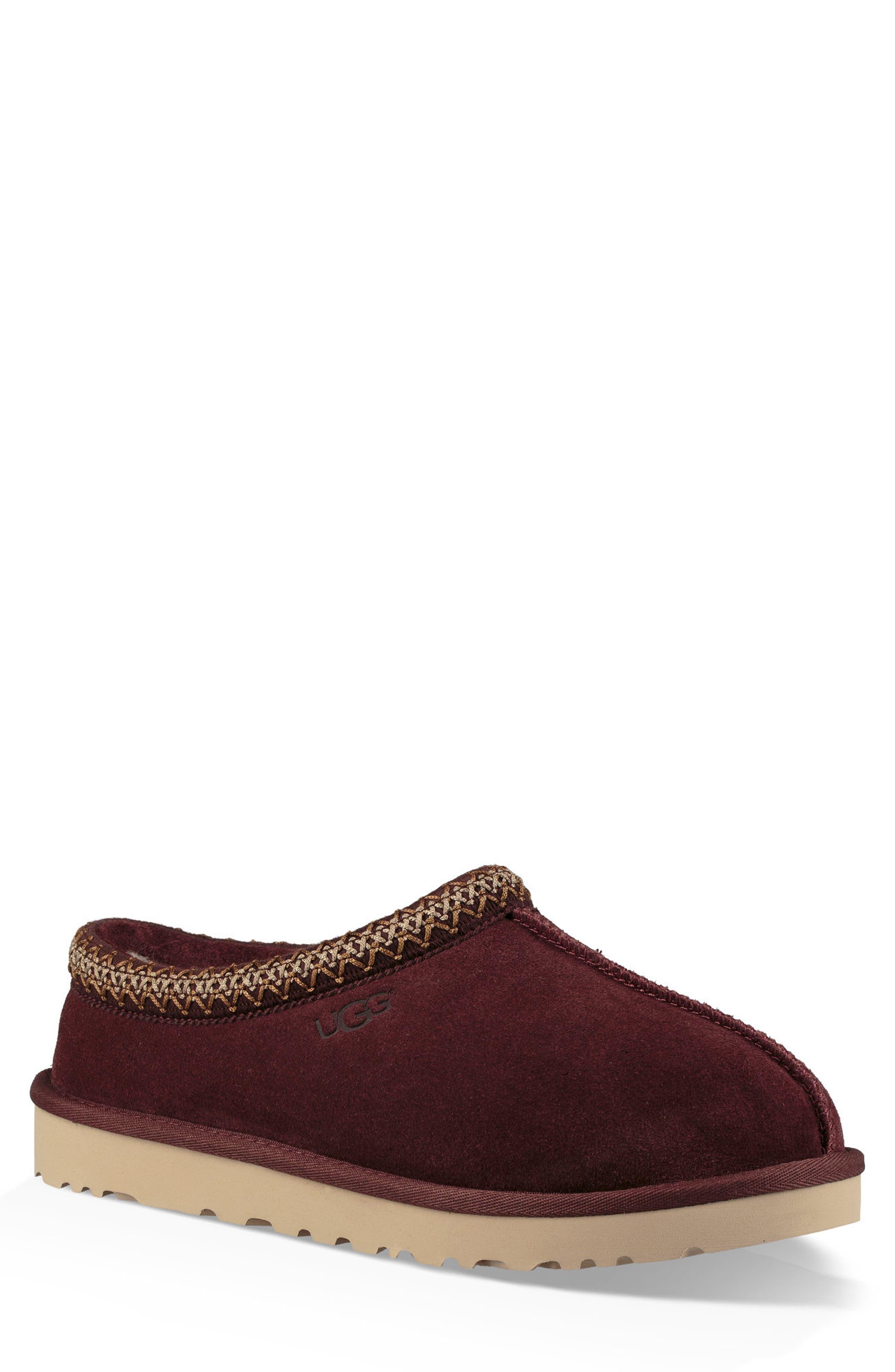 'Tasman' Slipper, Main, color, BURGUNDY