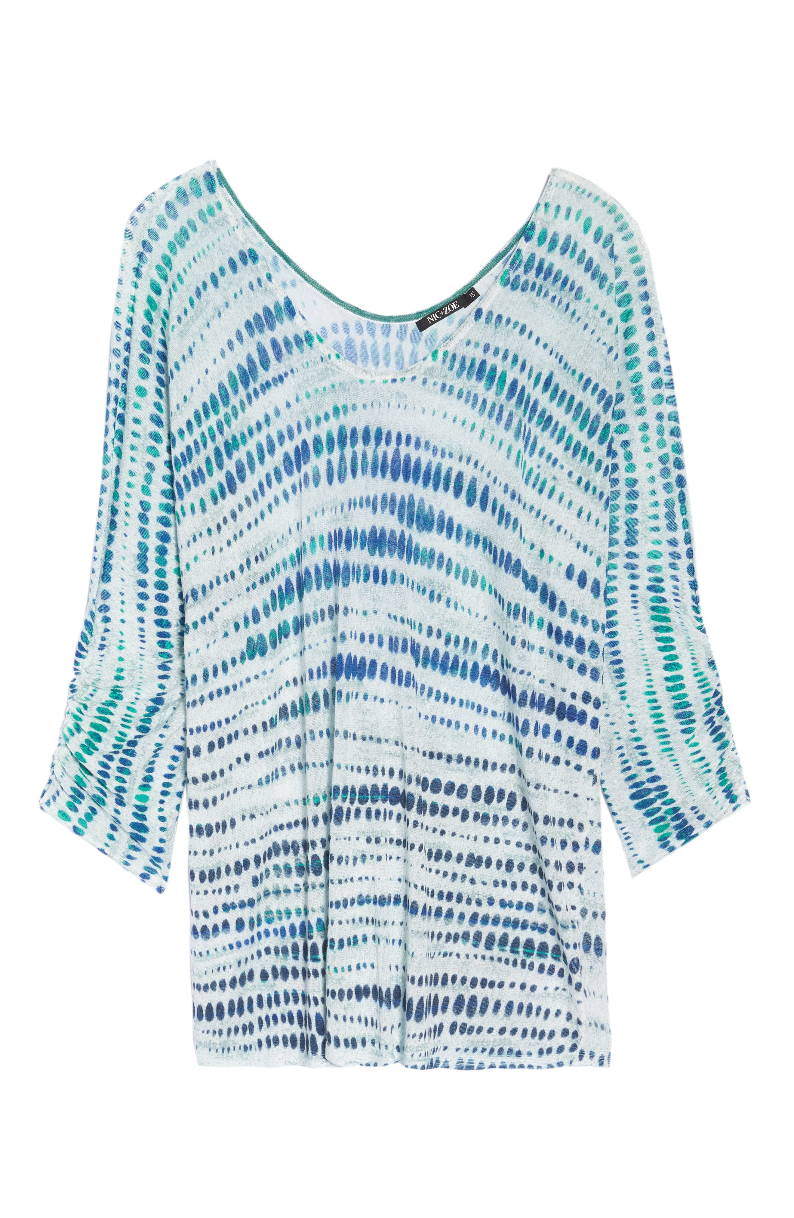 High Point Print Top,                             Alternate thumbnail 7, color,