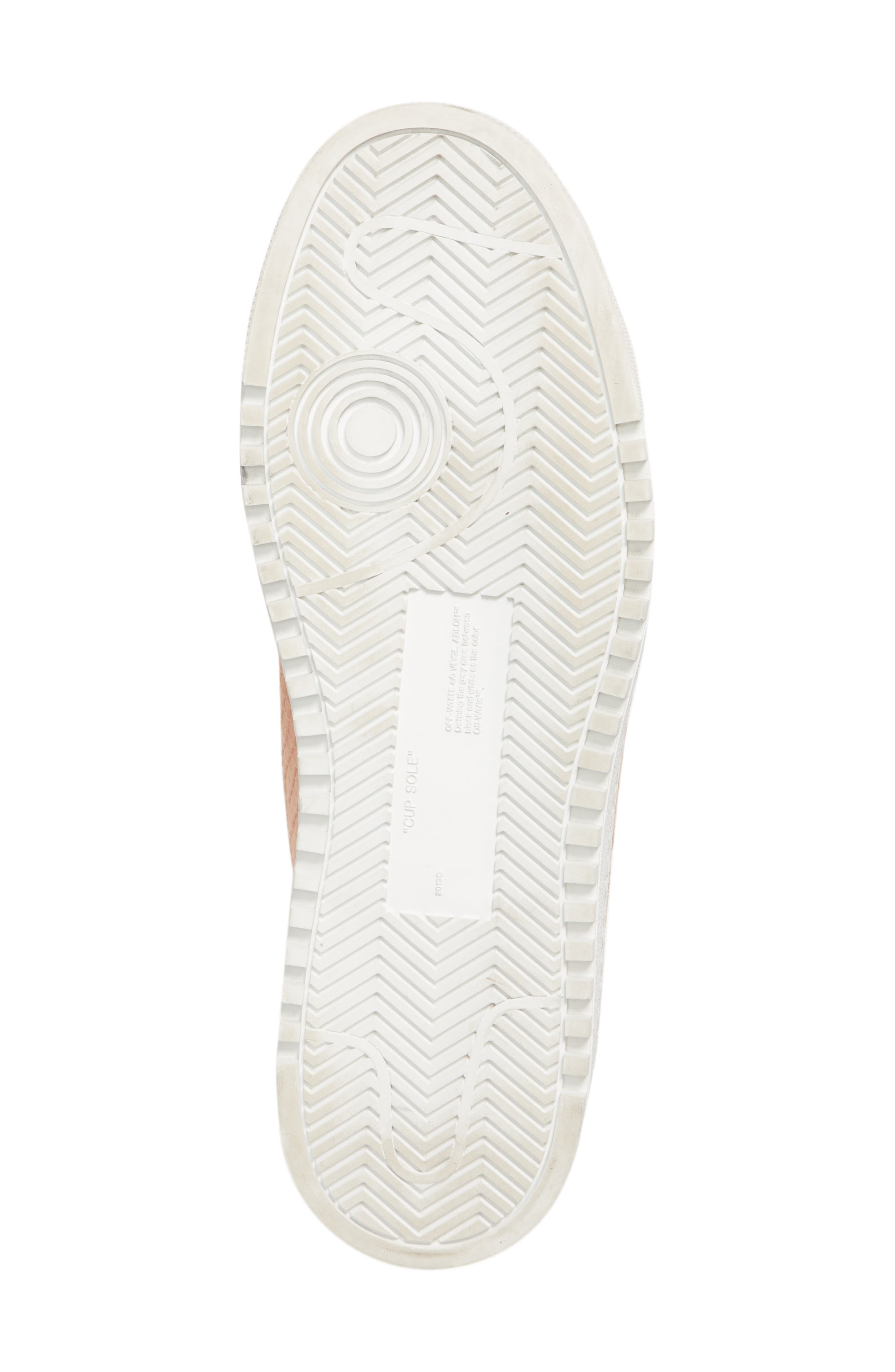 Arrow Sneaker,                             Alternate thumbnail 6, color,                             SALMON BLACK