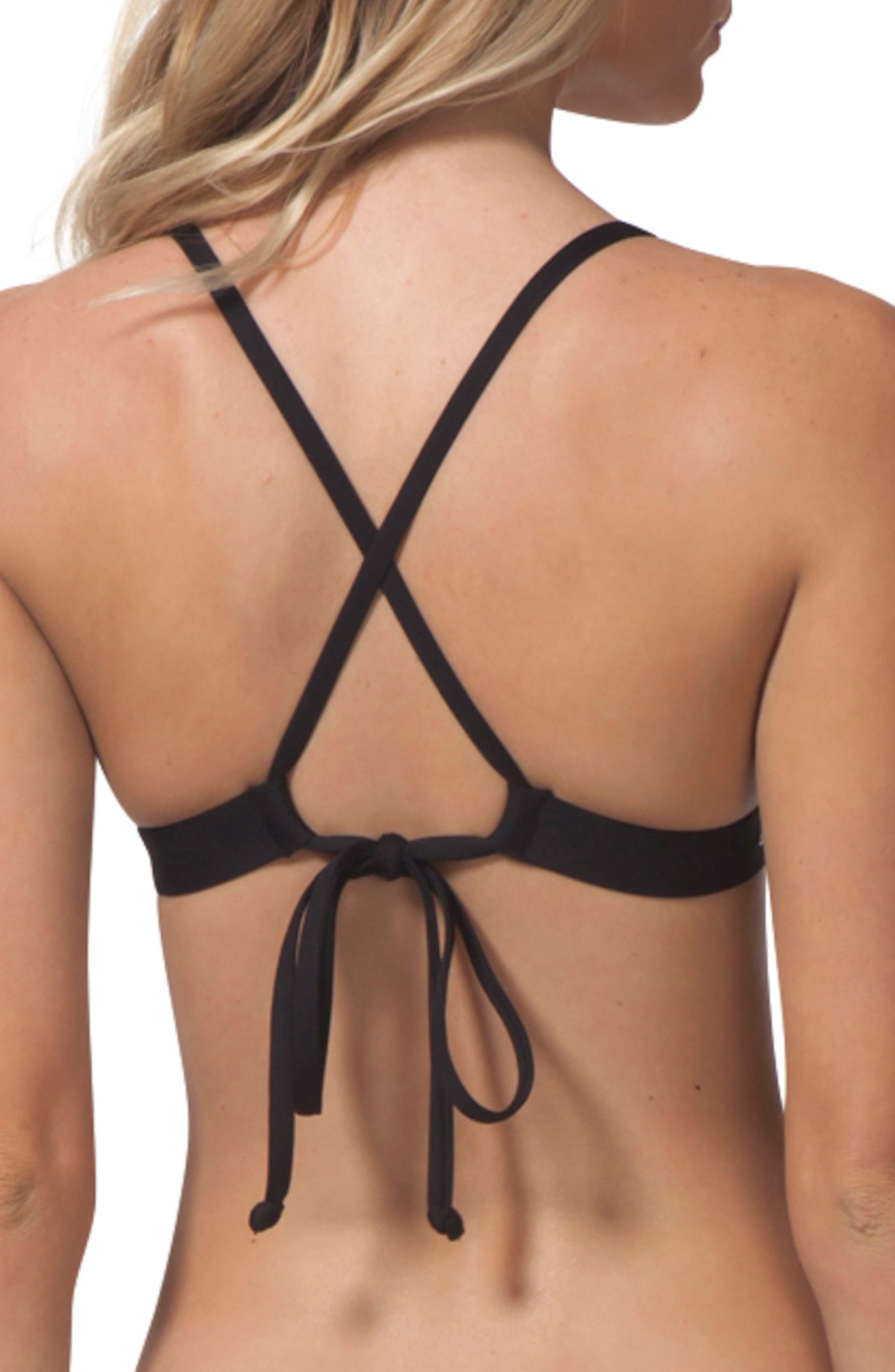 Single Fin Bikini Top,                             Alternate thumbnail 2, color,