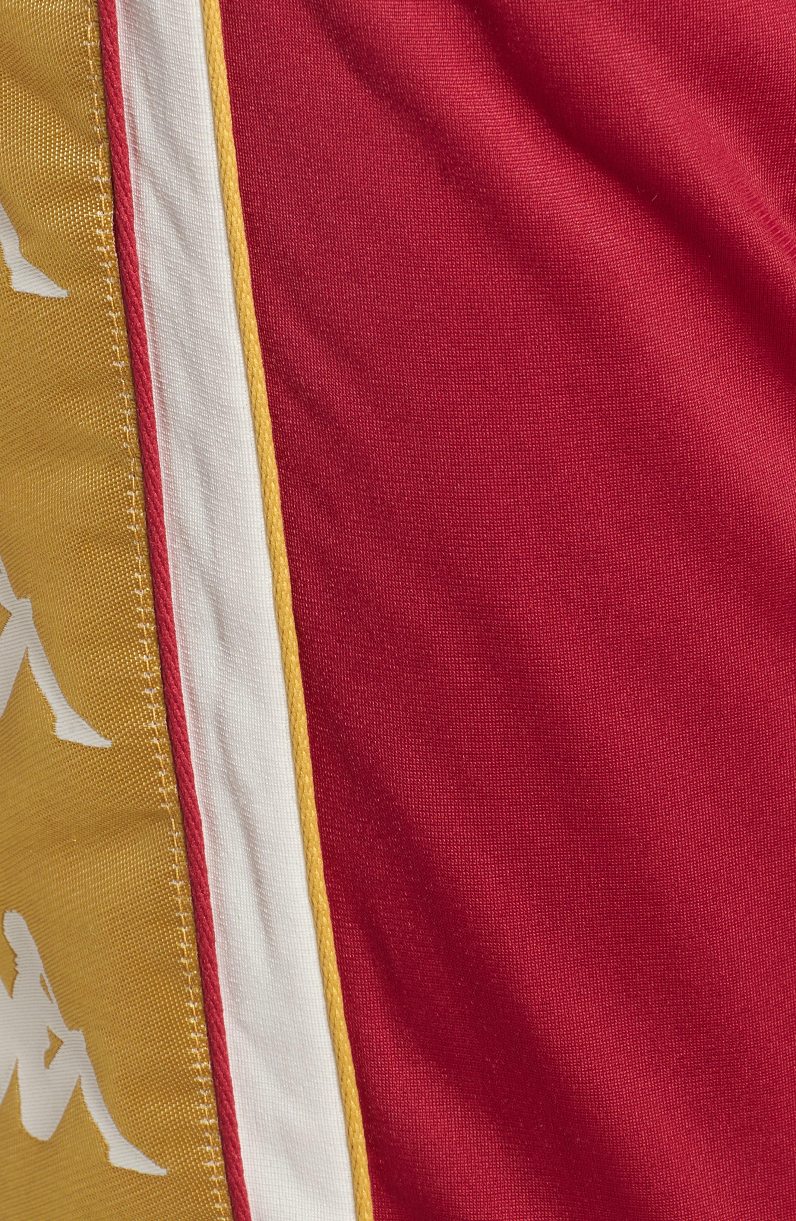 Track Pants,                             Alternate thumbnail 5, color,                             REDCERISE-WHITE-GOLD