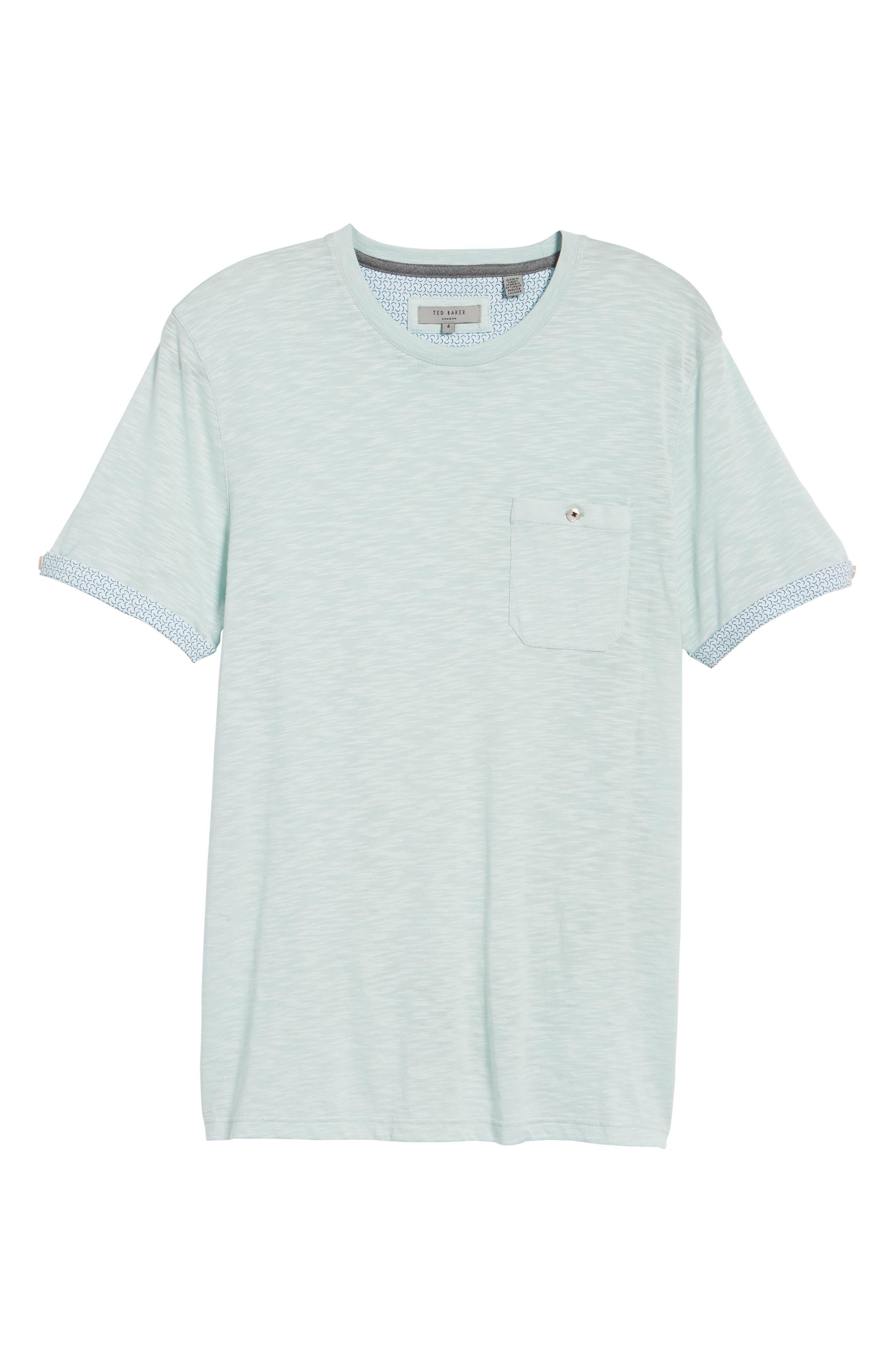 Taxi Slub Cotton Pocket T-Shirt,                             Alternate thumbnail 6, color,                             339