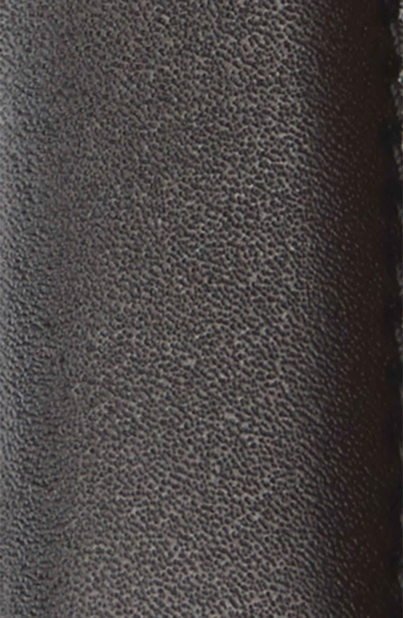Reversible Leather Belt,                             Alternate thumbnail 3, color,                             001