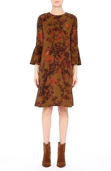Alternate Video 8  - Lafayette 148 New York Sidra Floral Print Silk Dress