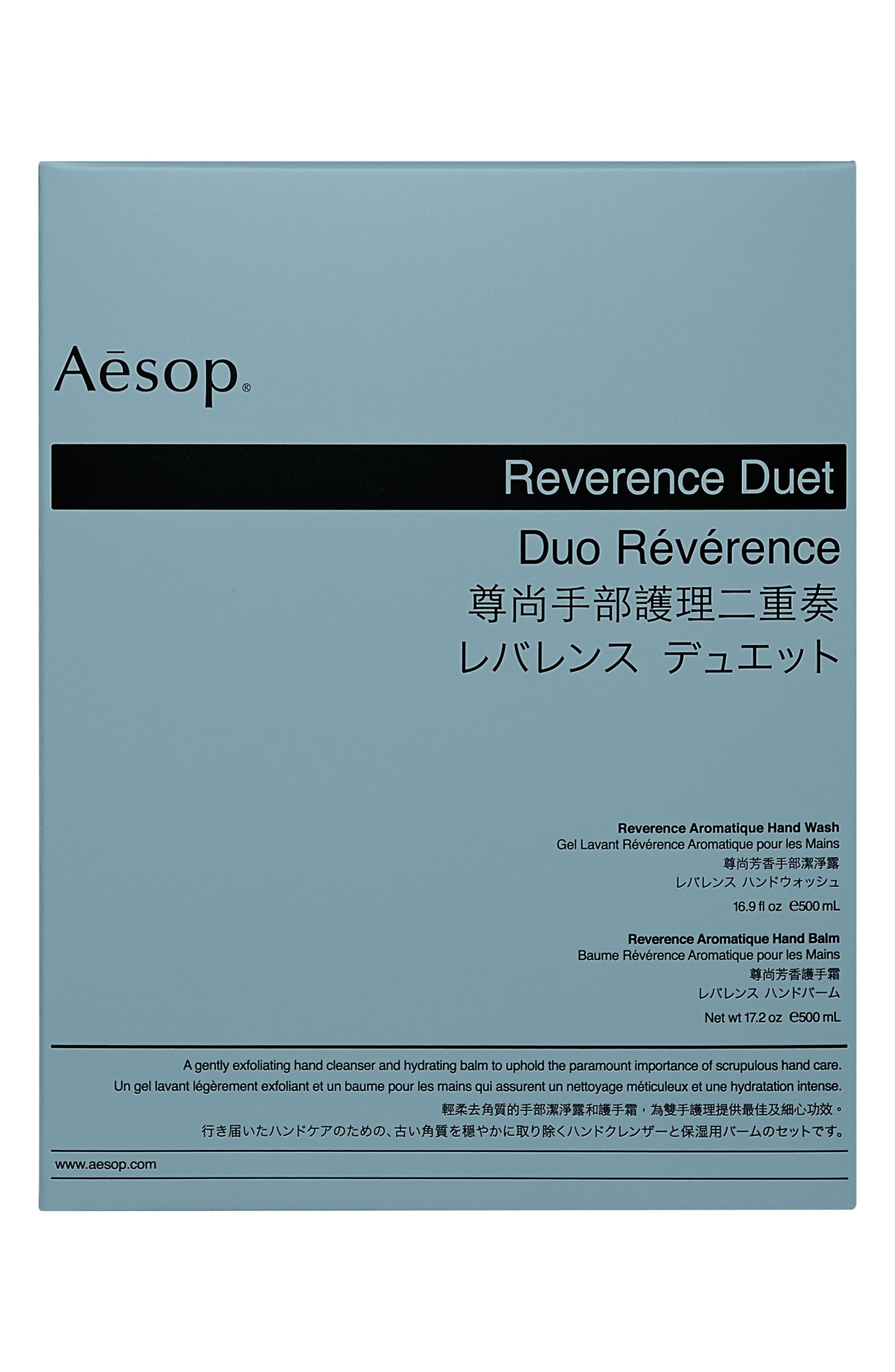 Reverence Hand Wash & Hand Balm Duet,                             Alternate thumbnail 3, color,                             NONE