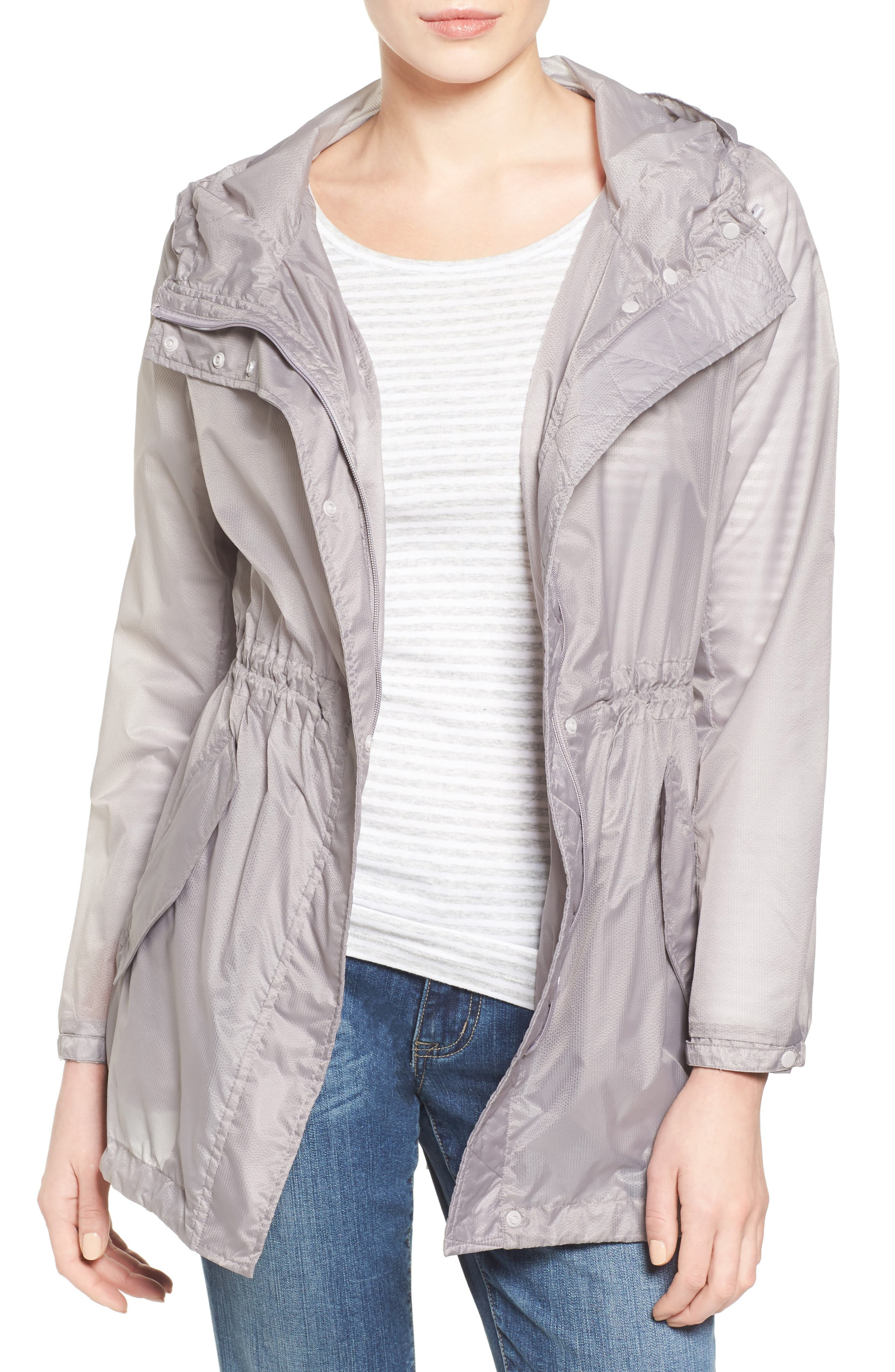 Teri Translucent Rain Jacket,                         Main,                         color, 068
