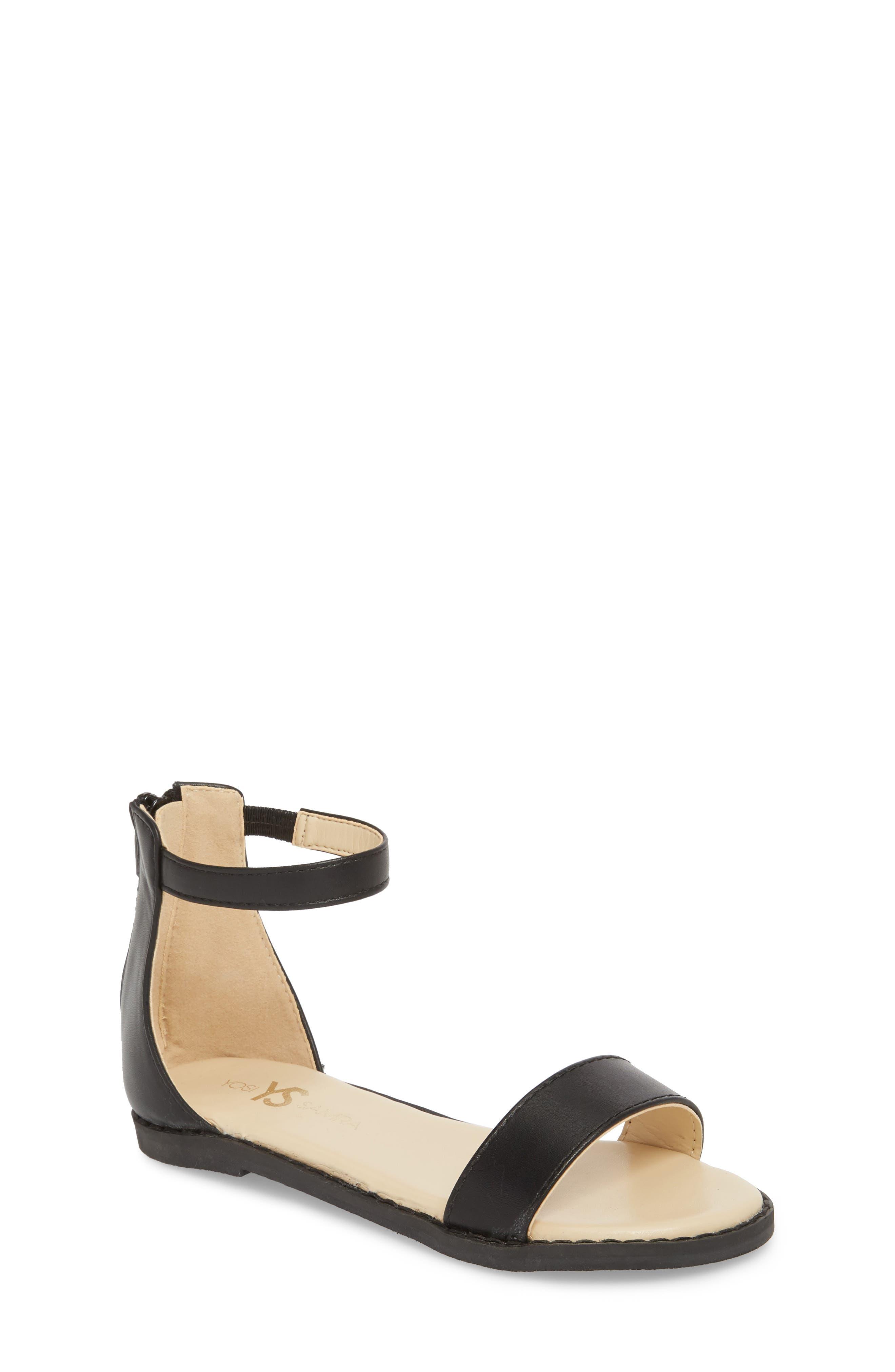 Cambelle Sandal,                         Main,                         color, BLACK