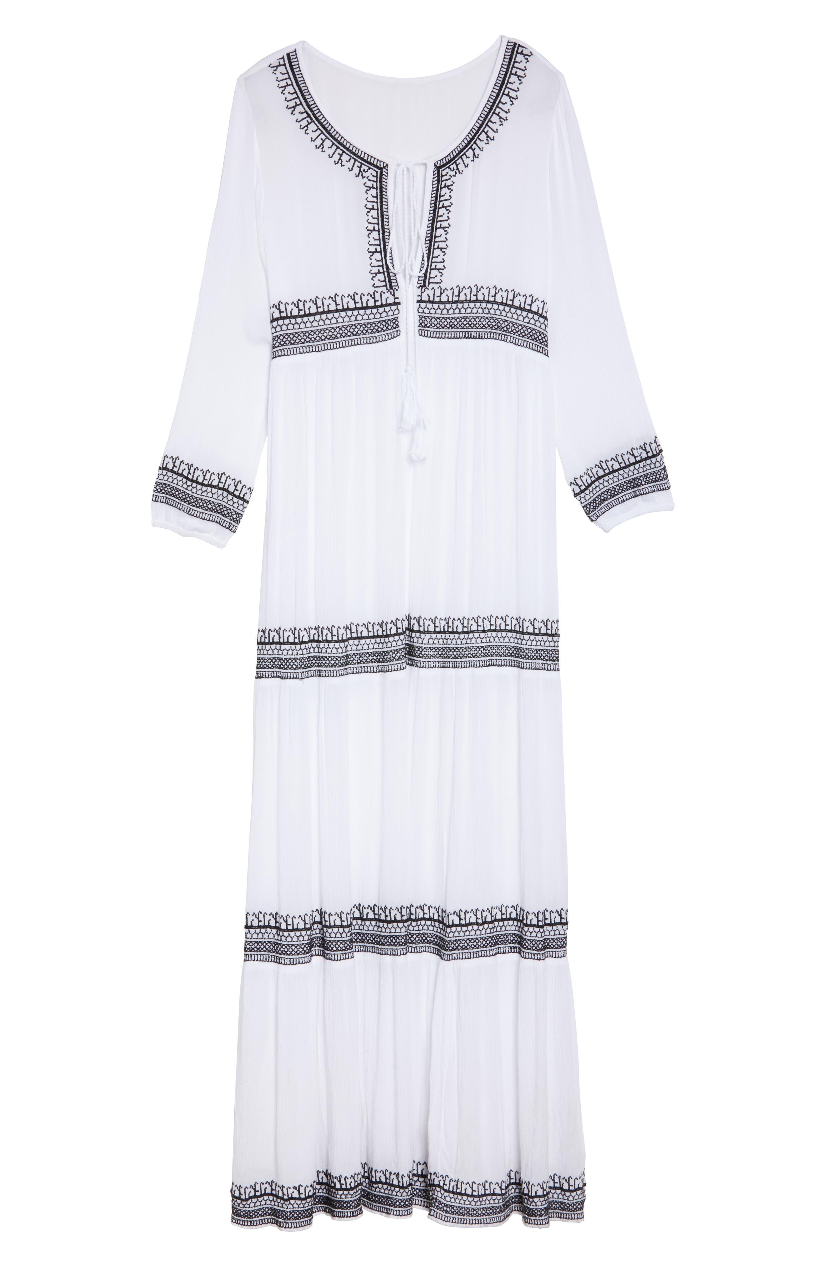 Gitana Maxi Cover-Up Dress,                             Alternate thumbnail 6, color,
