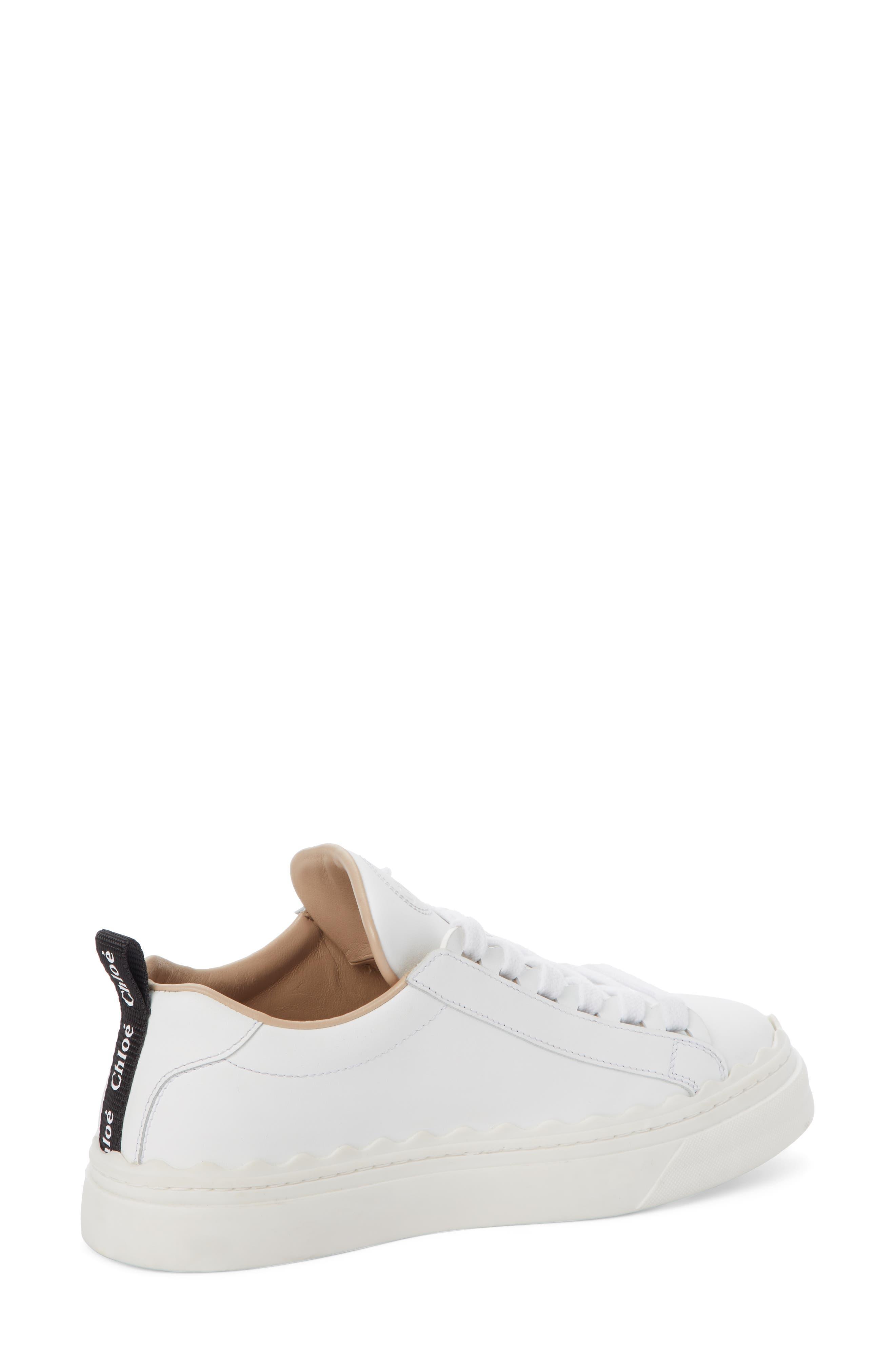 Lauren Sneaker,                             Alternate thumbnail 2, color,                             WHITE LEATHER