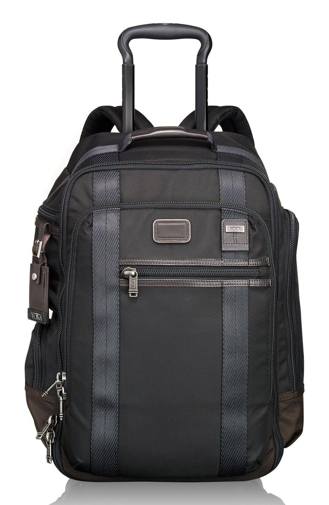 'Alpha Bravo – Peterson' Wheeled Backpack,                             Main thumbnail 1, color,                             001