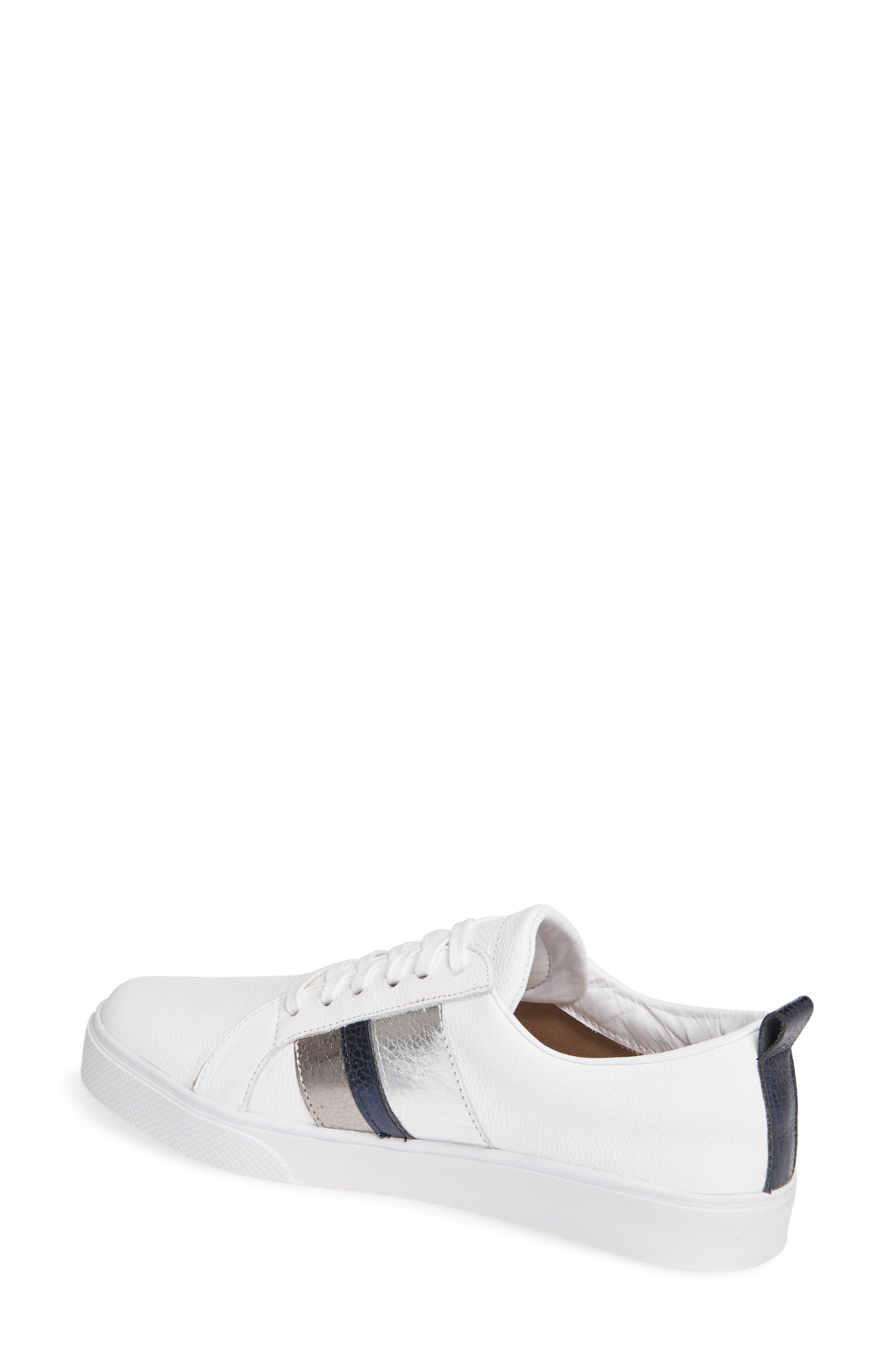 Bristol Sneaker,                             Alternate thumbnail 2, color,                             BLUE LEATHER