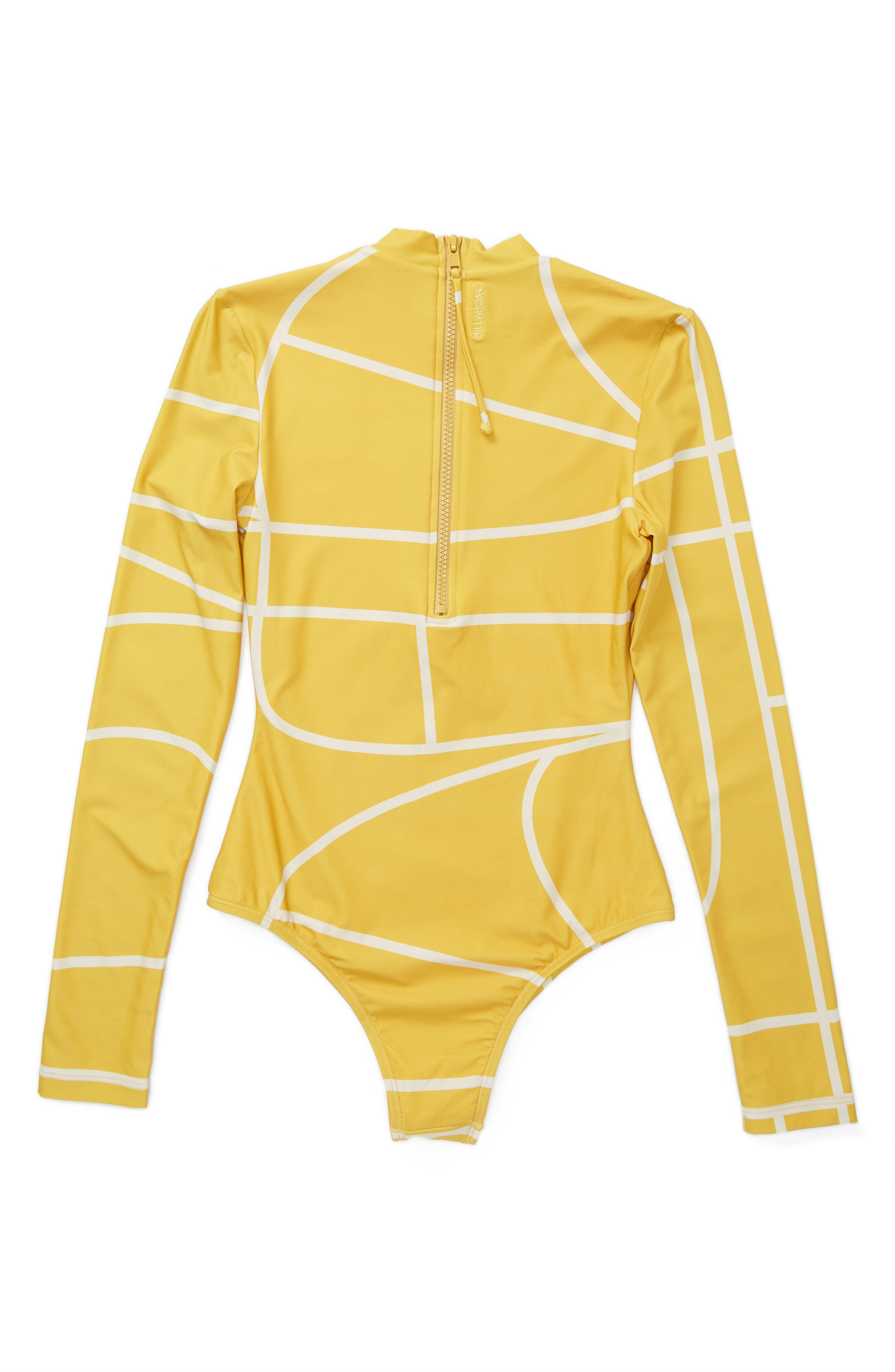 Babylon Rashguard Bodysuit,                             Alternate thumbnail 3, color,                             710