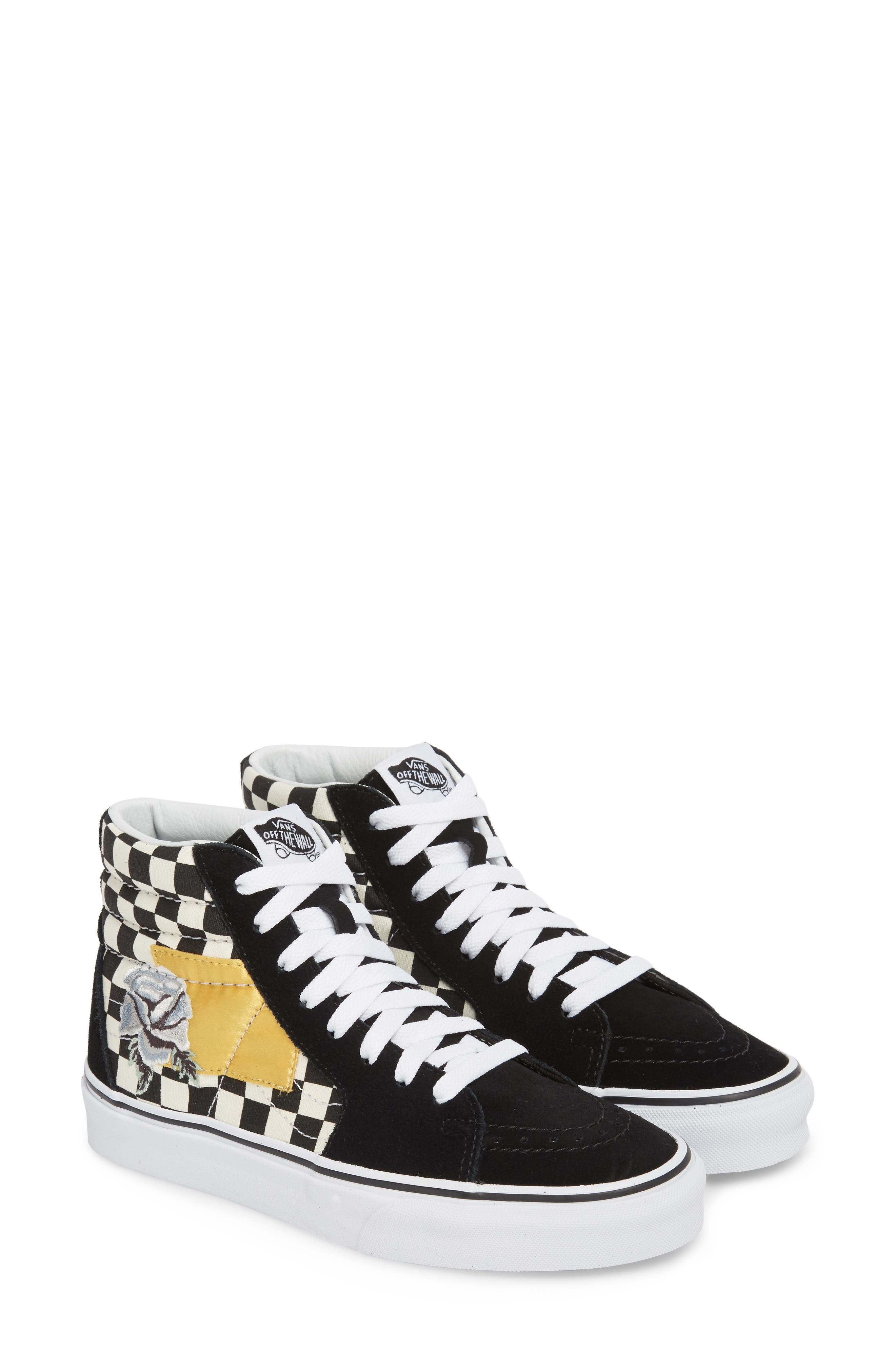 Sk8-Hi Checker Sneaker,                             Alternate thumbnail 2, color,                             003