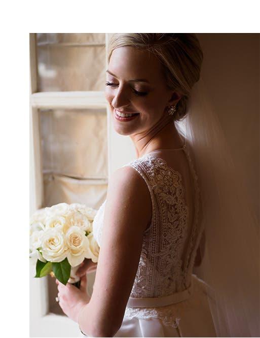 Real weddings: Lauren Hillin and James Trotter III