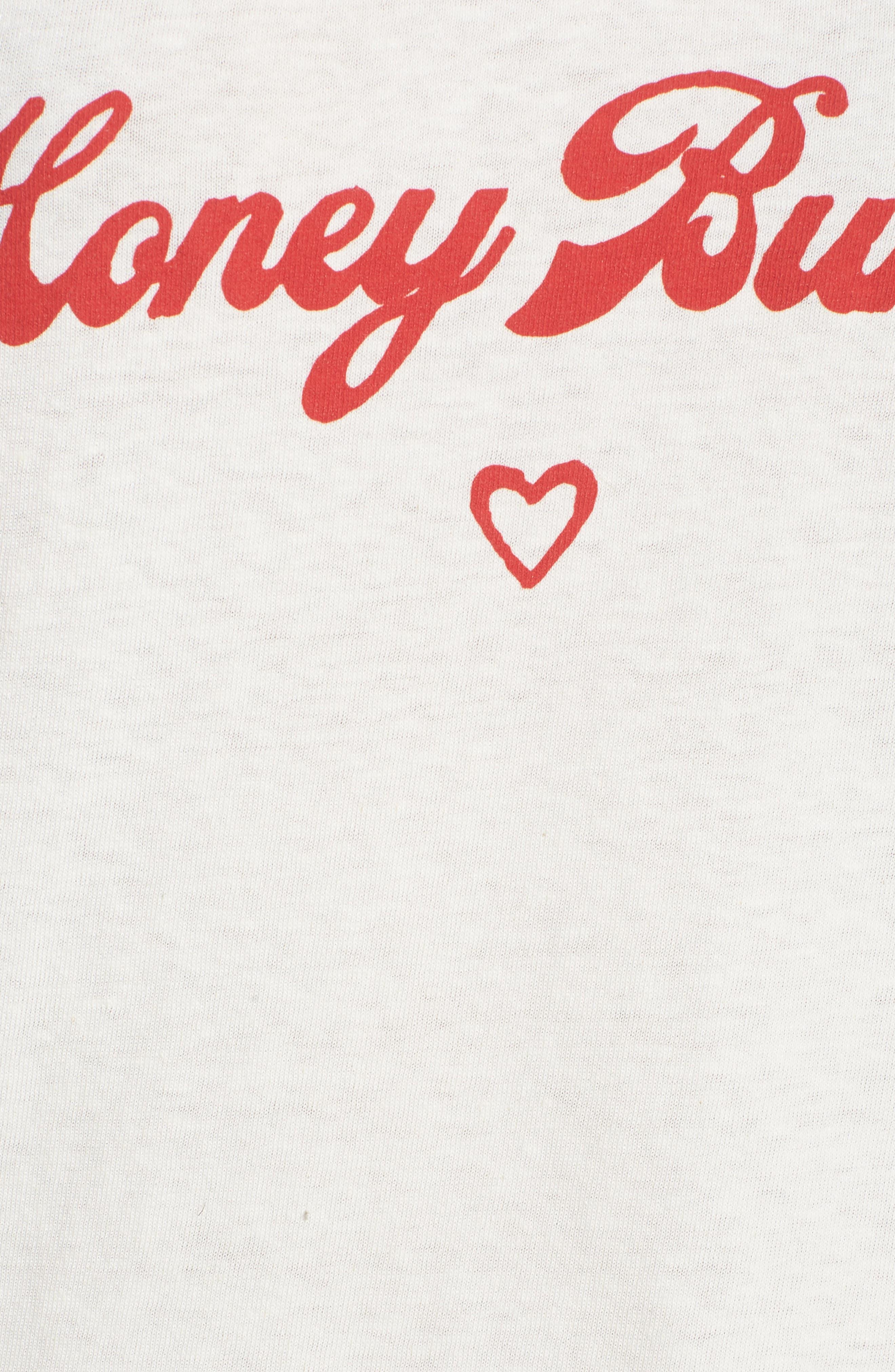 Honey Bunny Tee,                             Alternate thumbnail 6, color,                             110