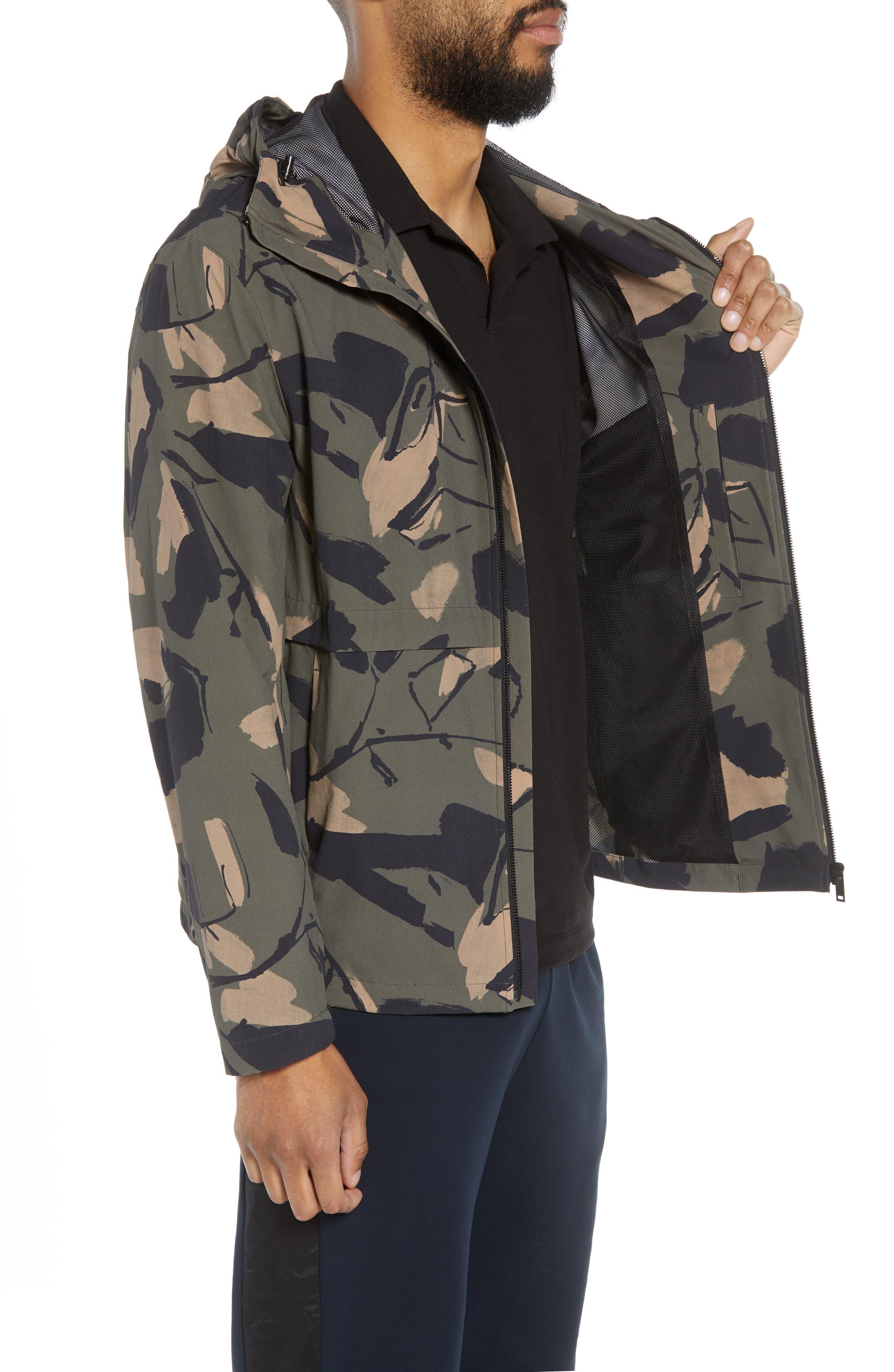 Wright Delfine Hooded Jacket,                             Alternate thumbnail 3, color,                             399
