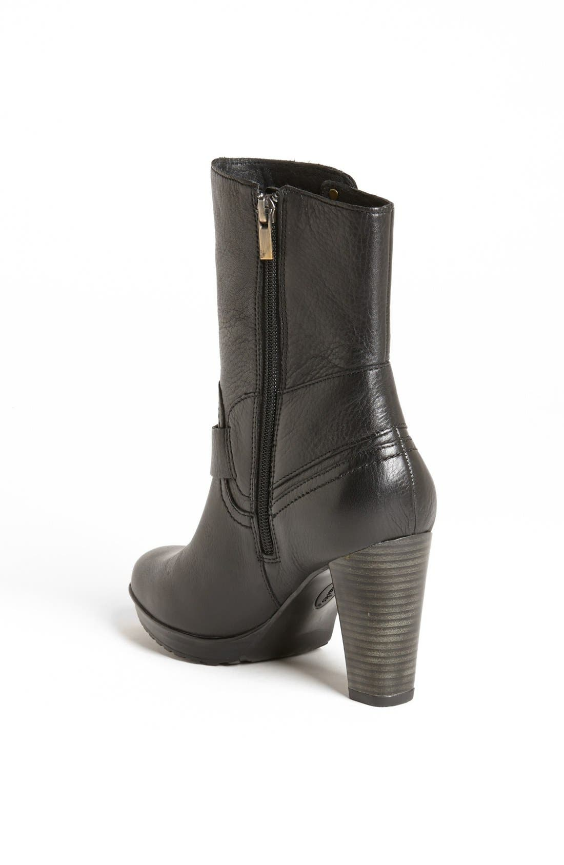 Clarks 'Lida' Sayer Bootie,                             Alternate thumbnail 3, color,                             003