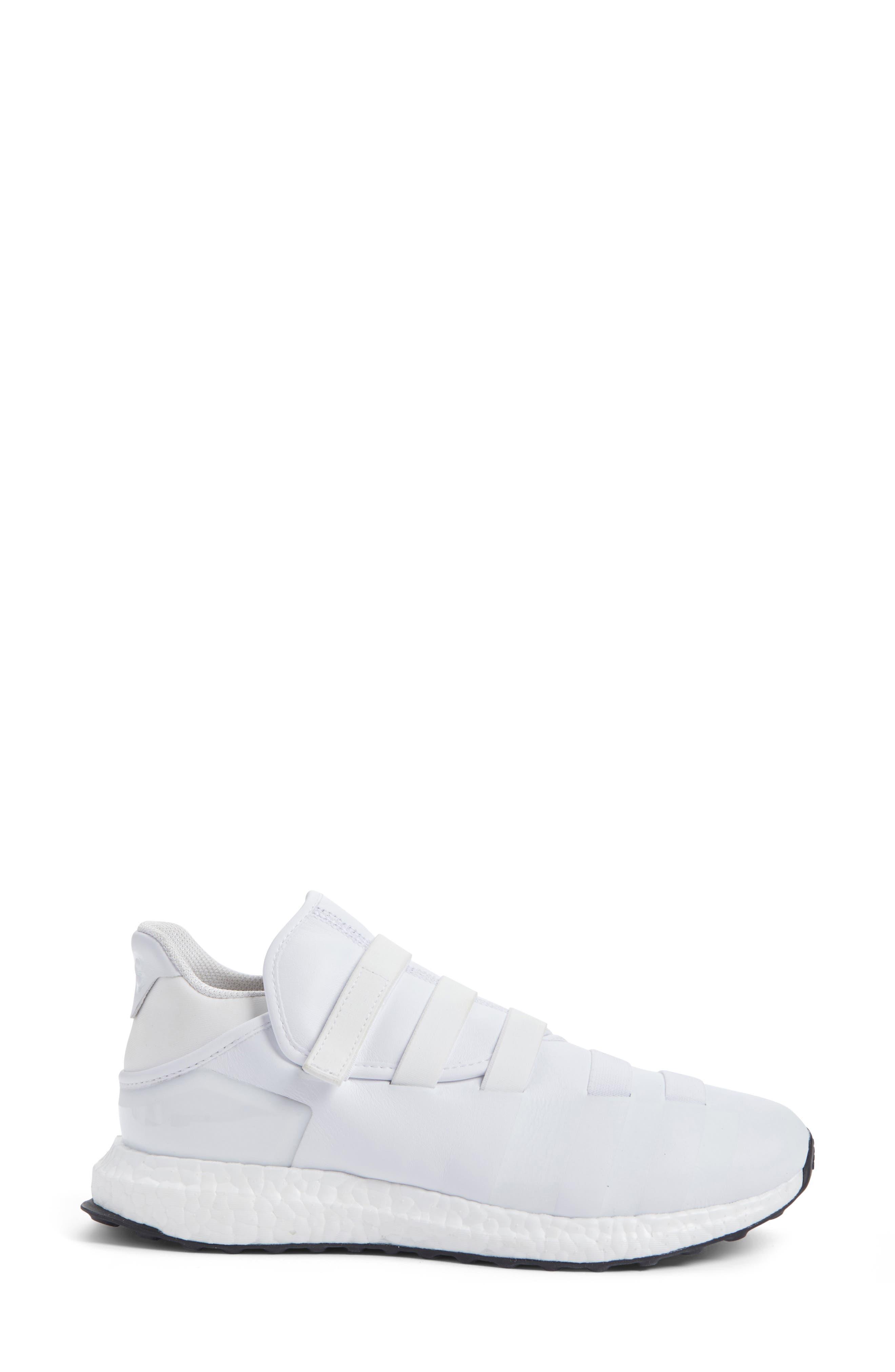 Zazu Strappy Sneaker,                             Alternate thumbnail 3, color,                             100