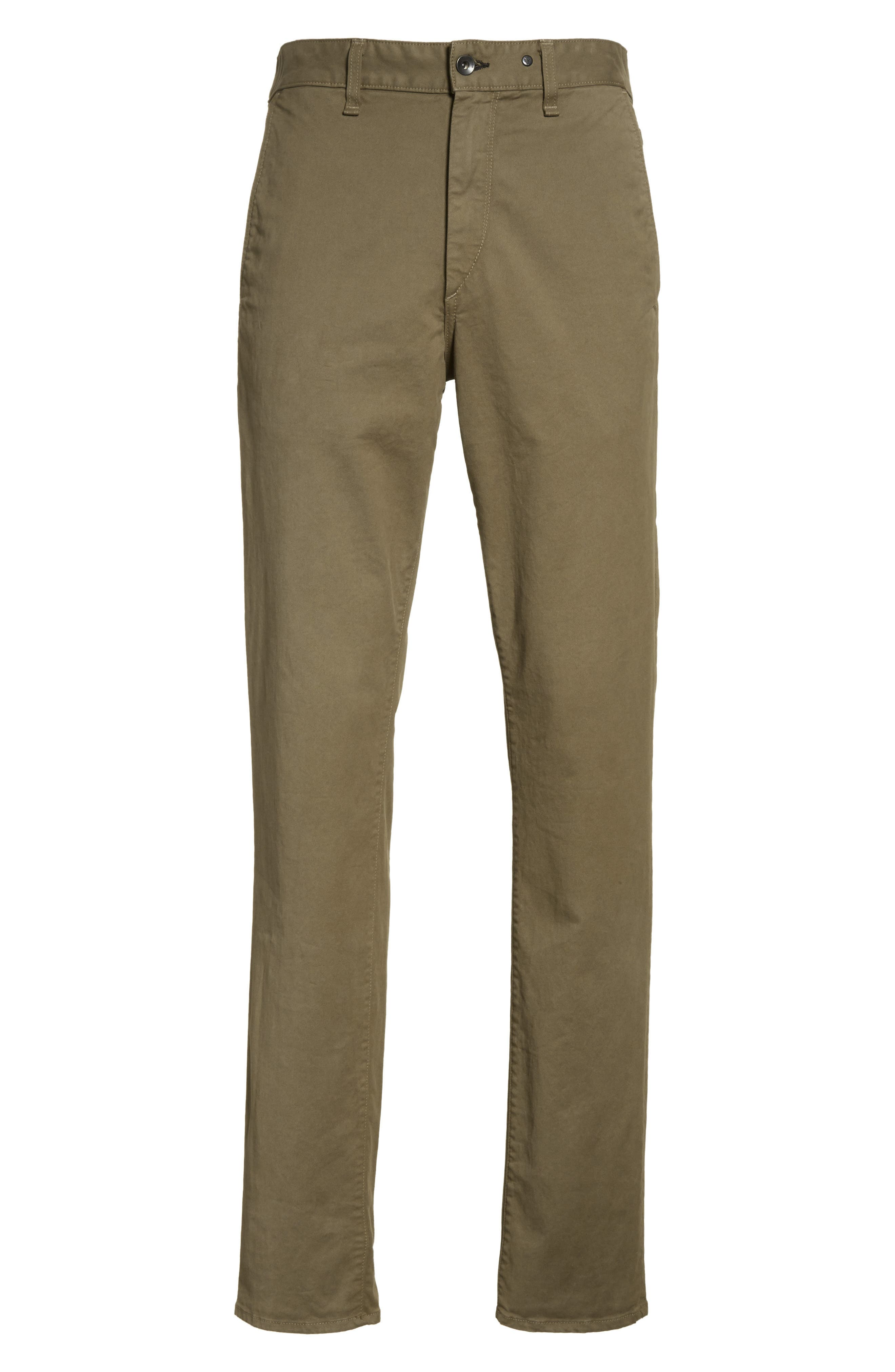 Fit 2 Chinos,                             Alternate thumbnail 6, color,                             ARMY