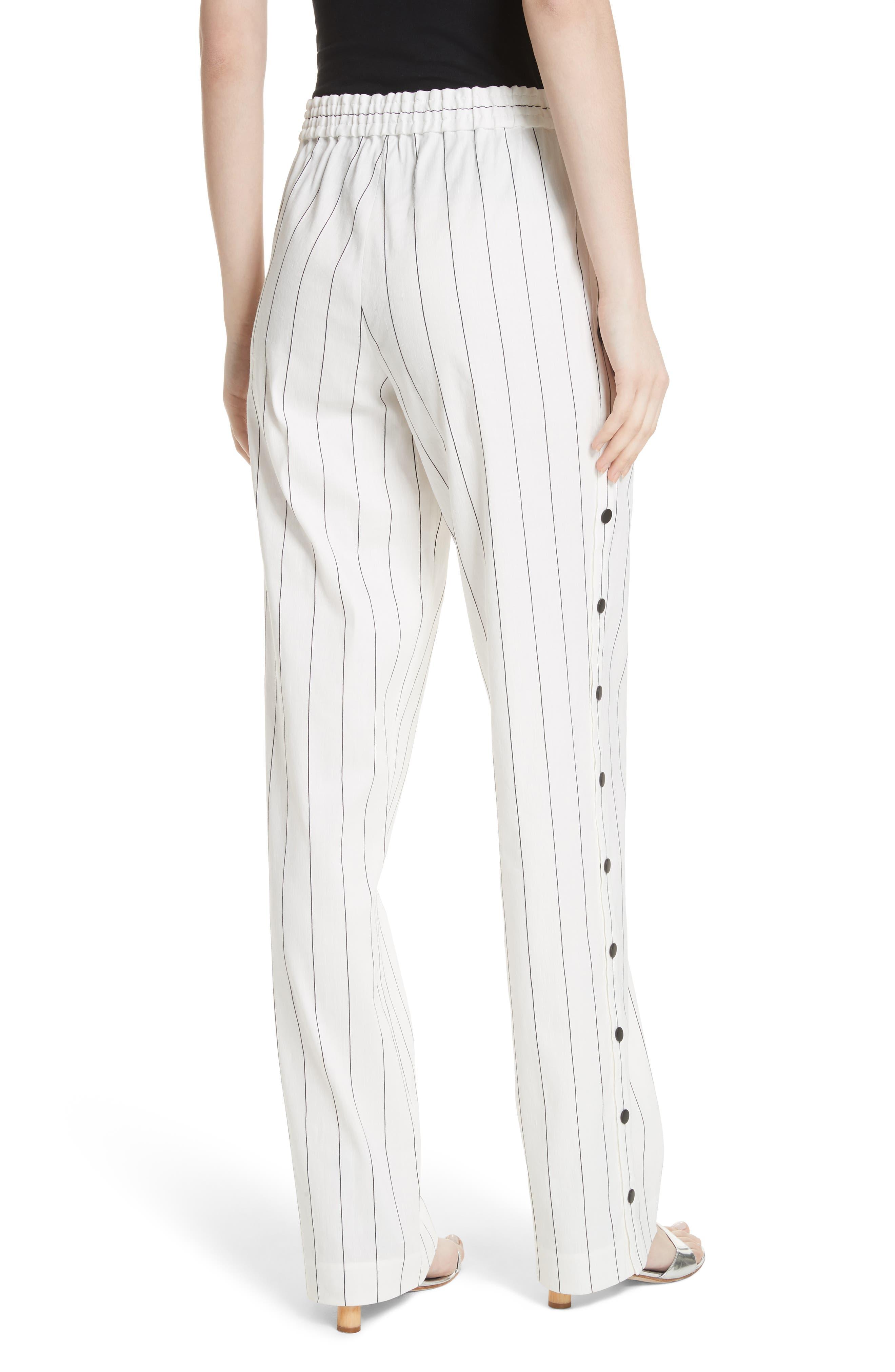 Snap Side Stripe Pants,                             Alternate thumbnail 2, color,                             907