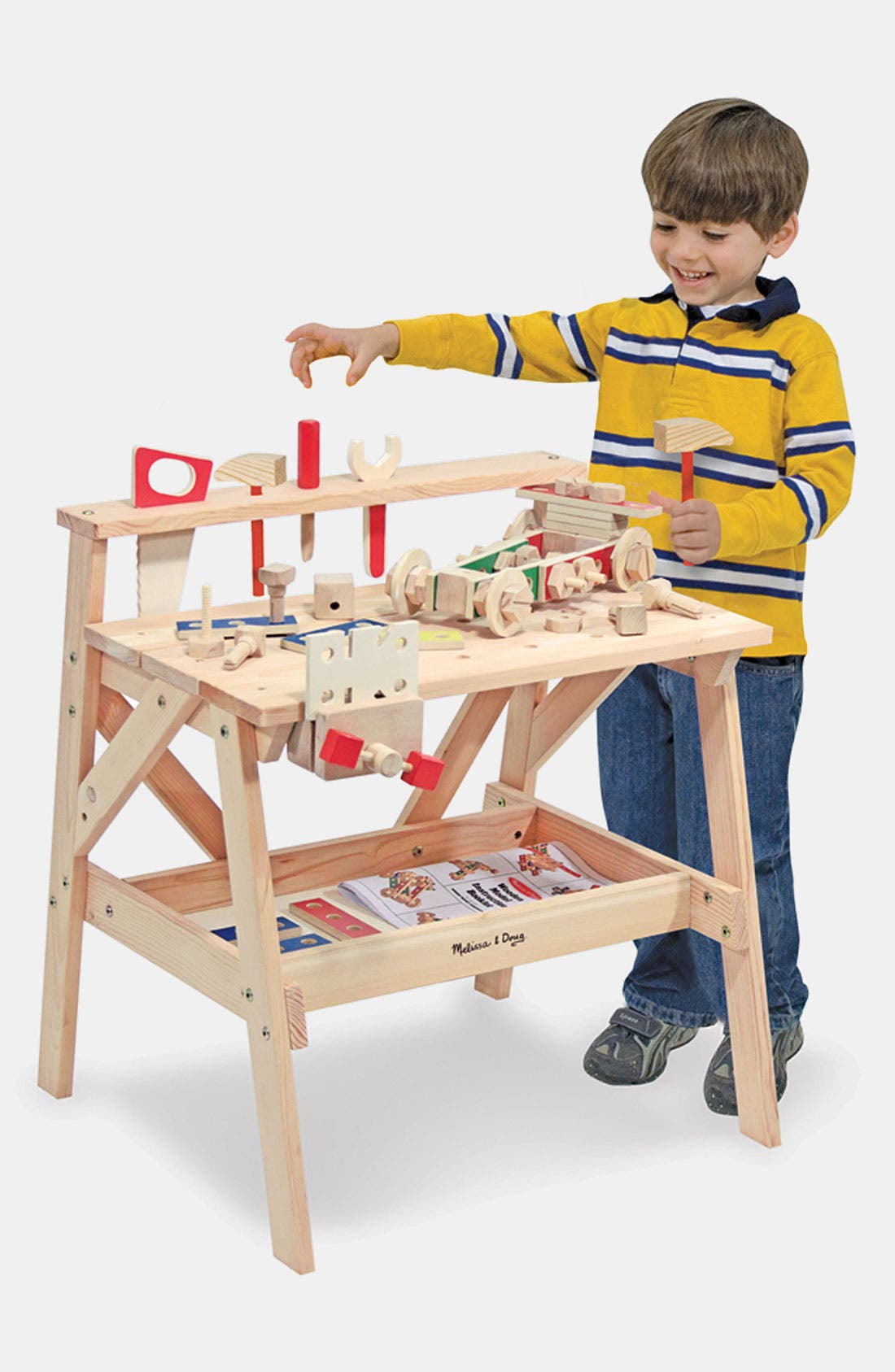 Wooden Project Workbench,                             Main thumbnail 1, color,                             VARIOUS