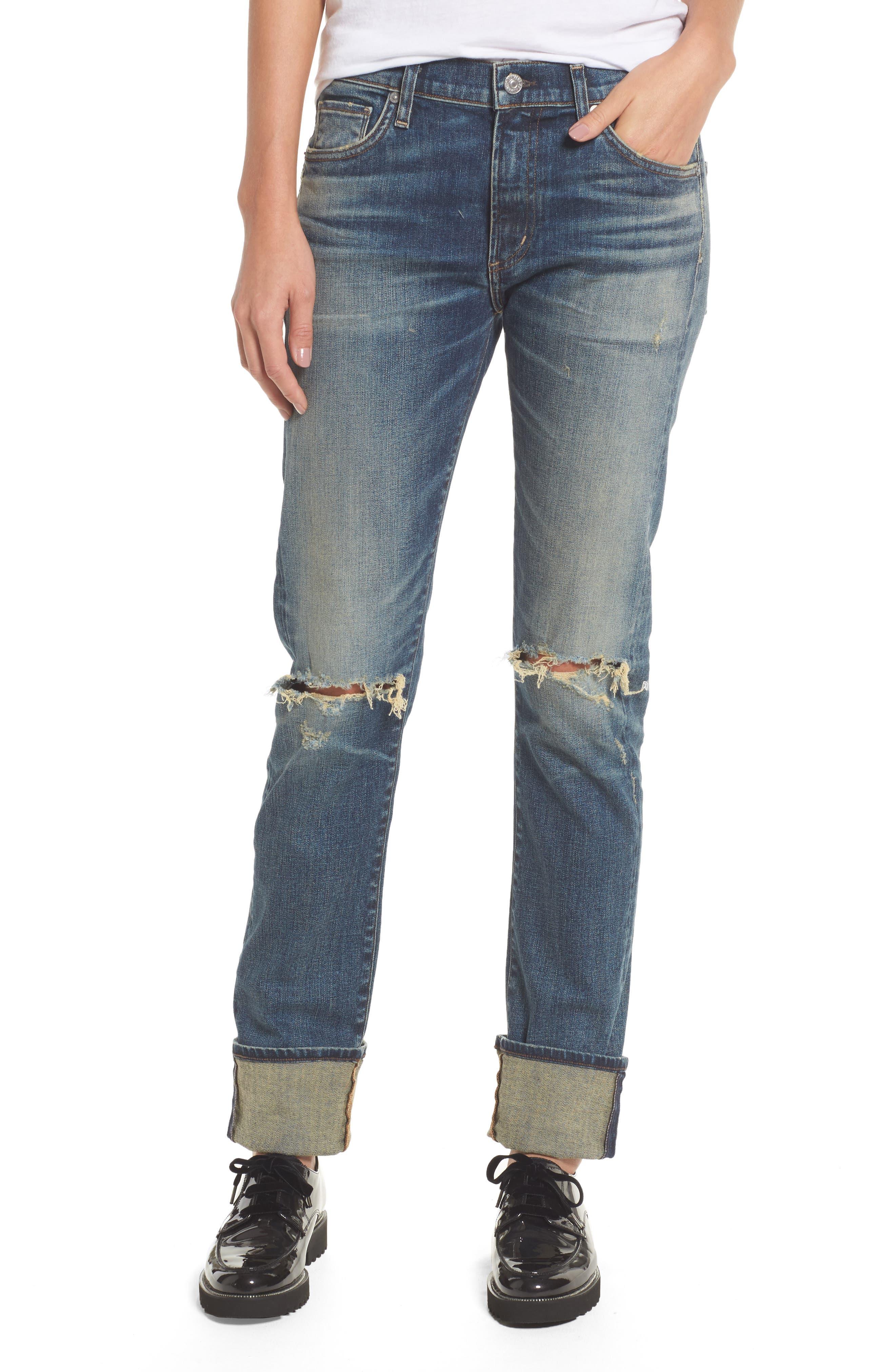 Agnes Long Jeans,                             Main thumbnail 1, color,