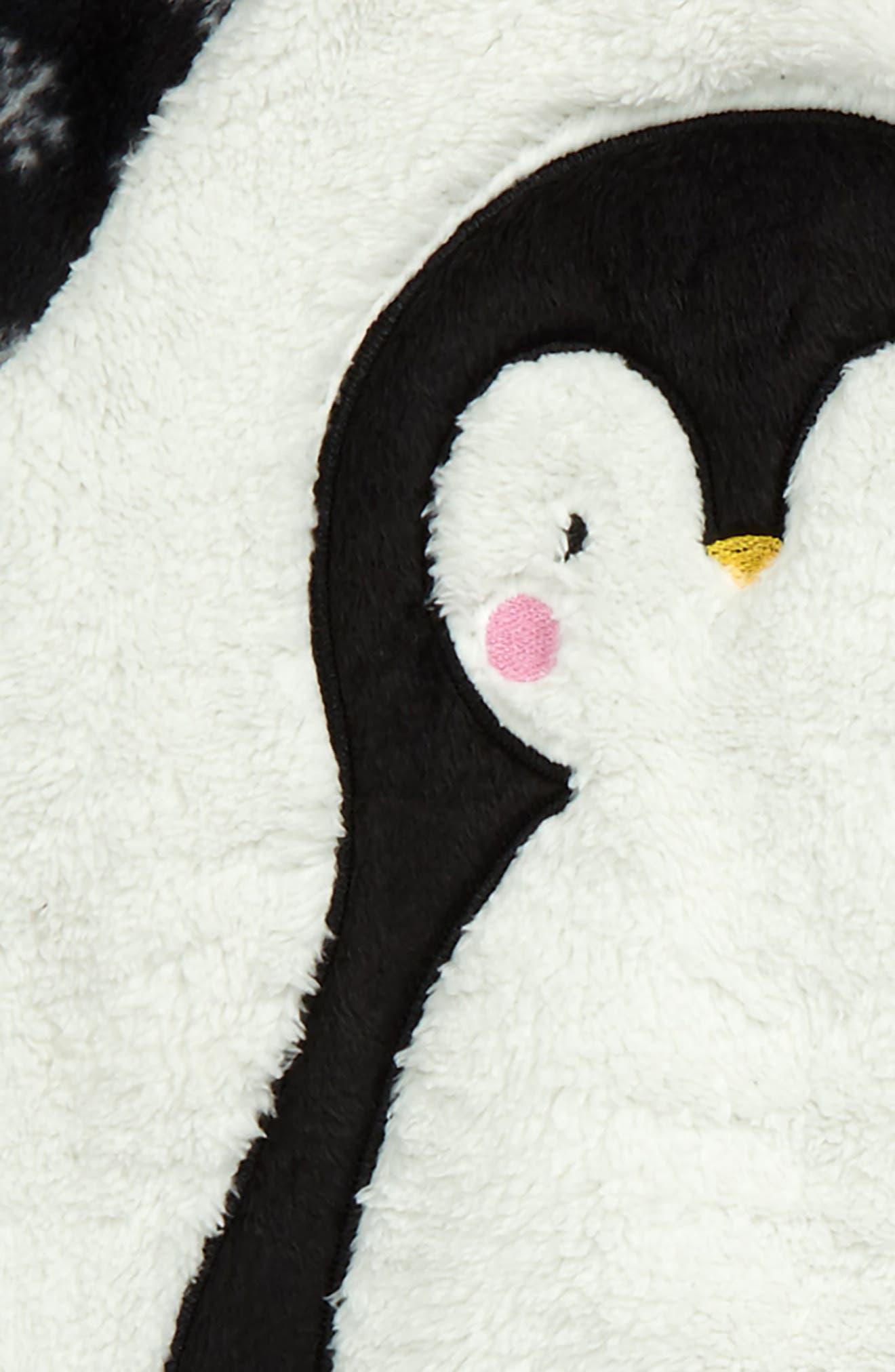 PJ SALVAGE,                             Appliqué Two-Piece Pajamas,                             Alternate thumbnail 2, color,                             001