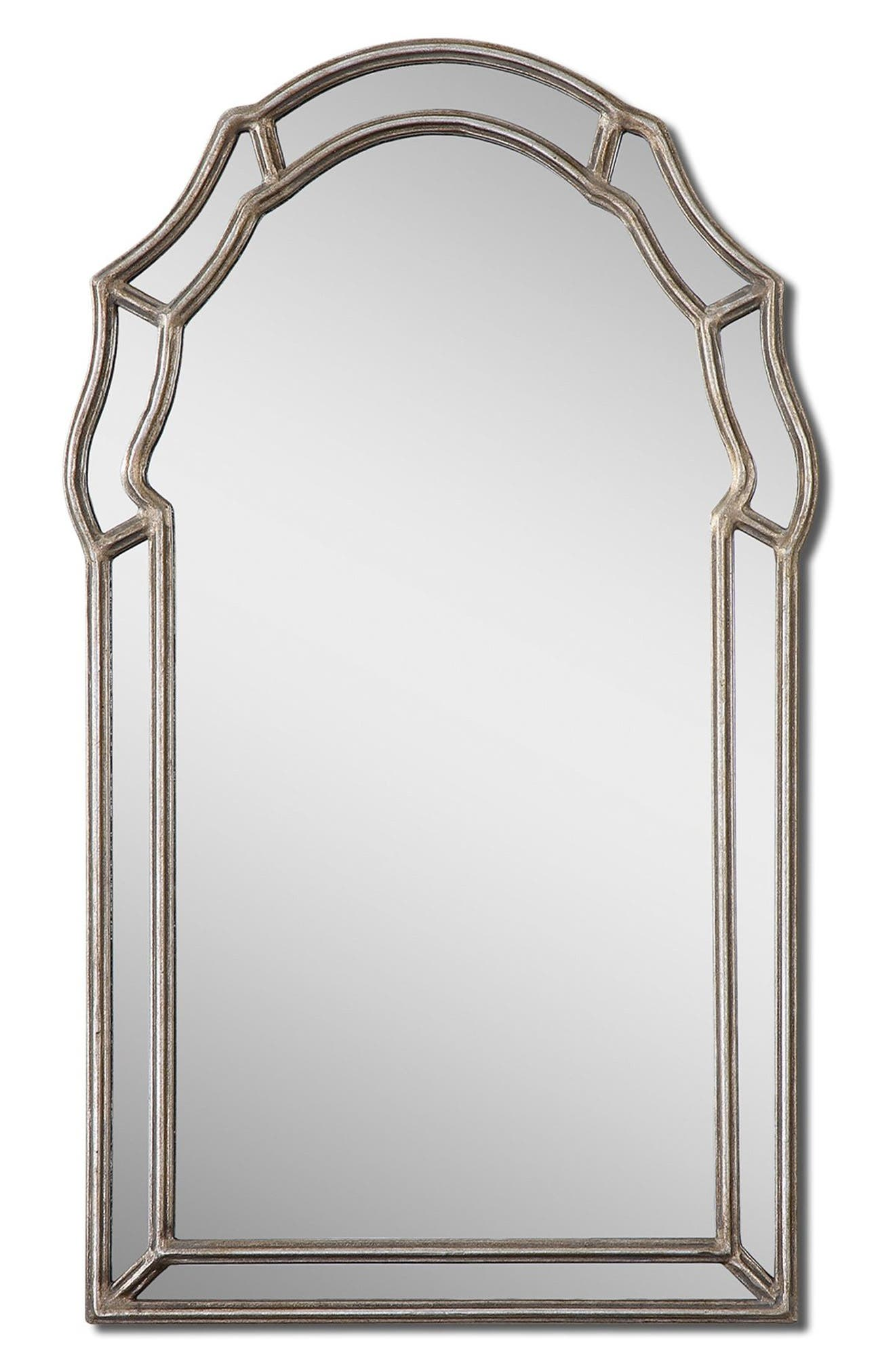 'Petrizzi' Arch Mirror,                             Alternate thumbnail 4, color,                             020