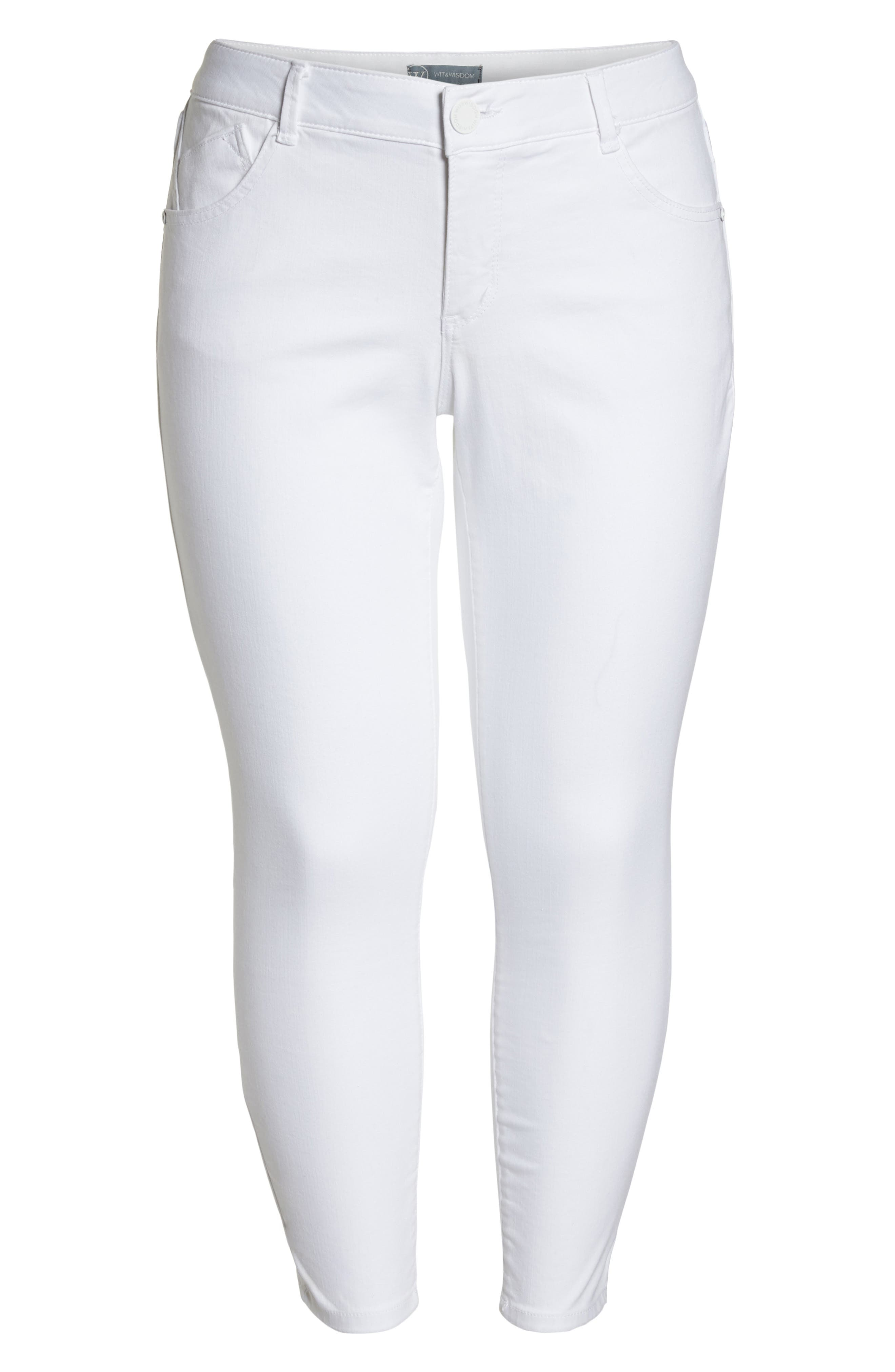 Ab-solution Ankle Skimmer Jeans,                             Alternate thumbnail 7, color,                             106