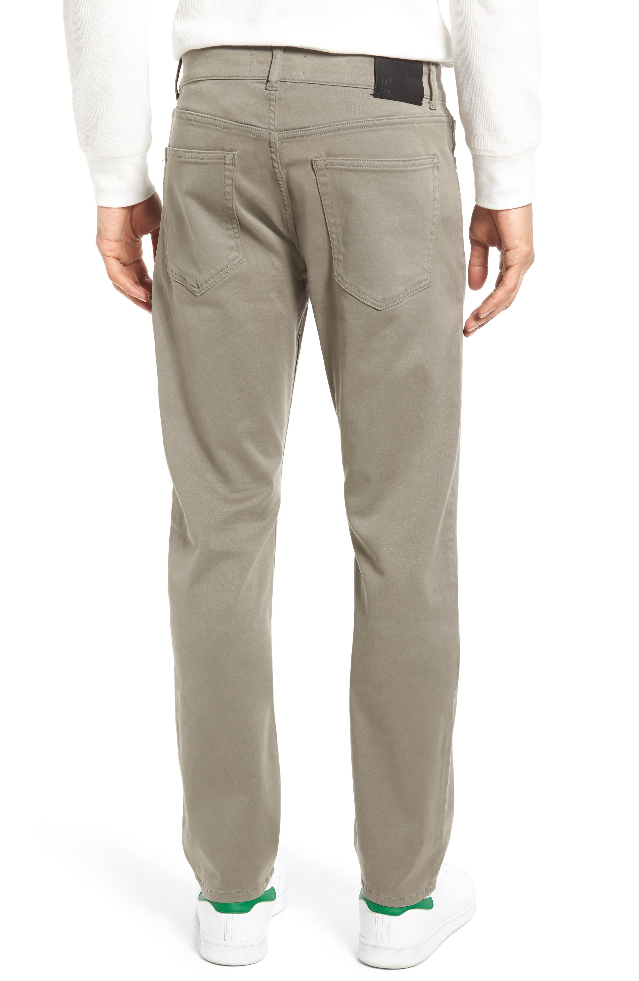 Russell Slim Fit Sateen Twill Pants,                             Alternate thumbnail 18, color,