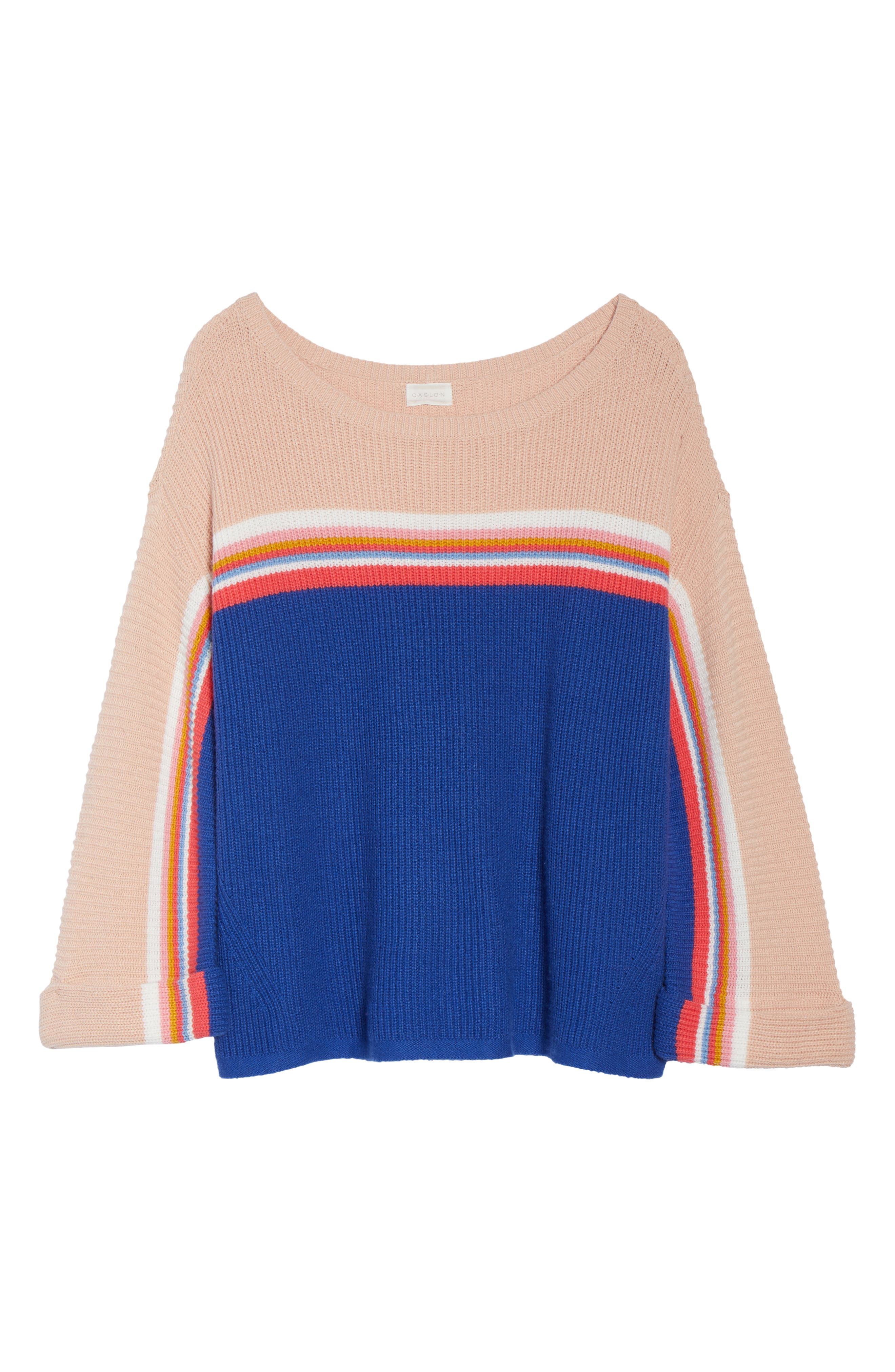 Shaker Stitch Sweater,                             Alternate thumbnail 6, color,                             401