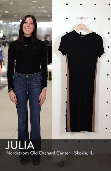 Side Stripe Rib Knit Dress, sales video thumbnail
