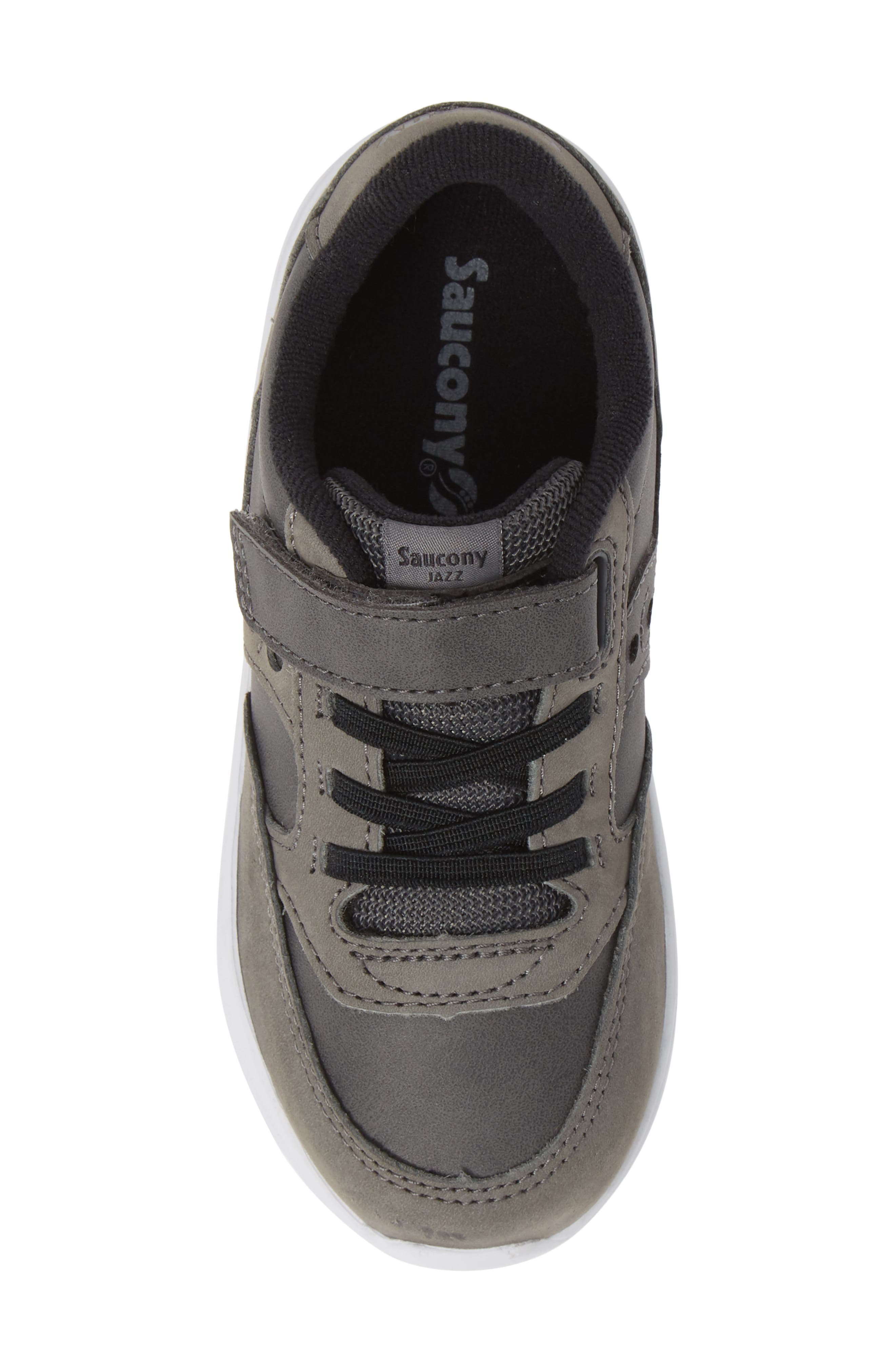 'Baby Jazz - Lite' Sneaker,                             Alternate thumbnail 5, color,                             GREY LEATHER