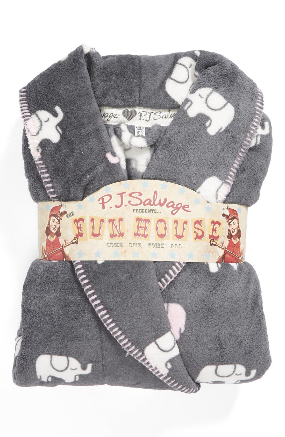 Plush Robe,                             Alternate thumbnail 3, color,                             020