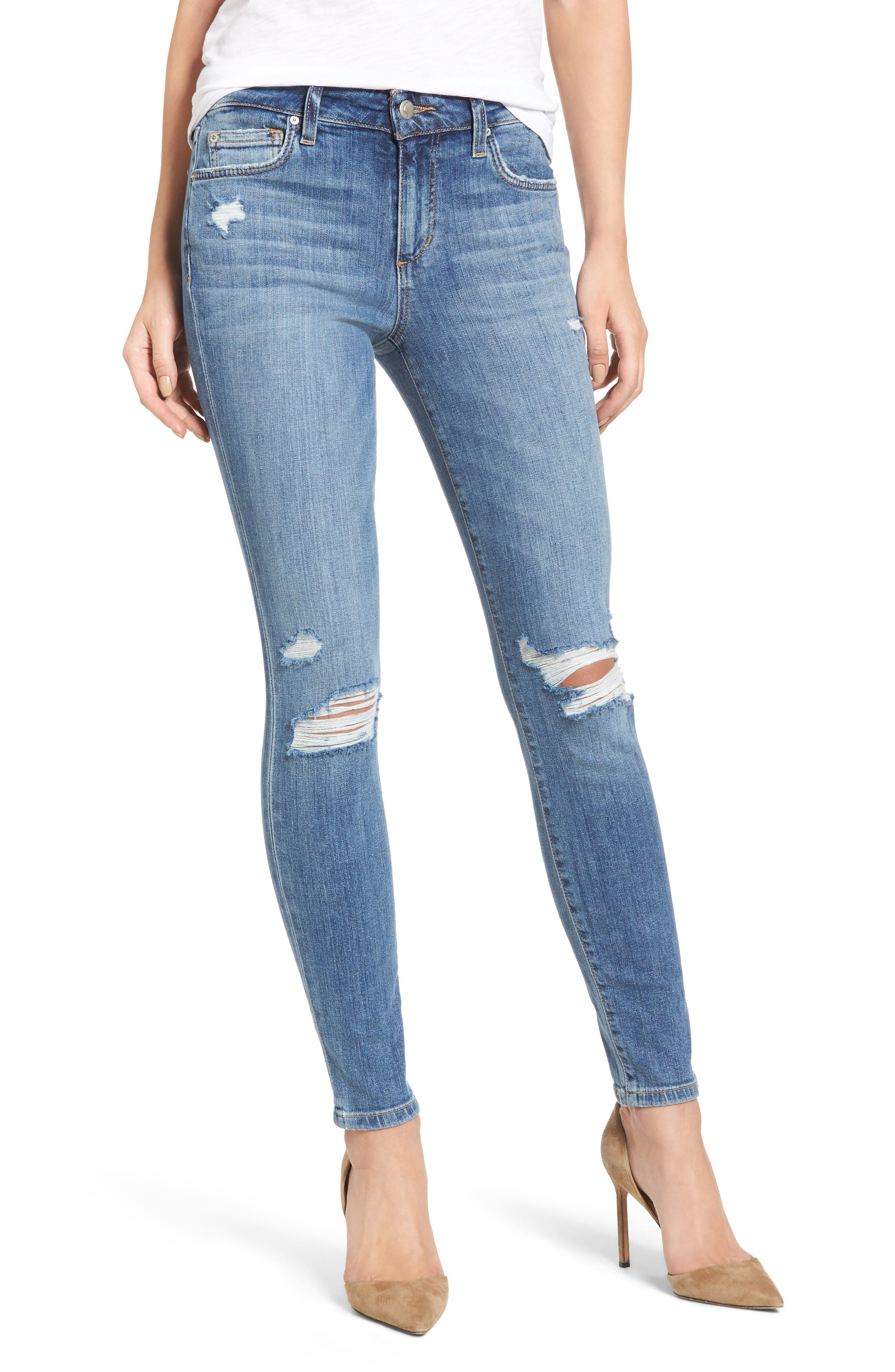 The Icon Skinny Ankle Jeans,                         Main,                         color, 412