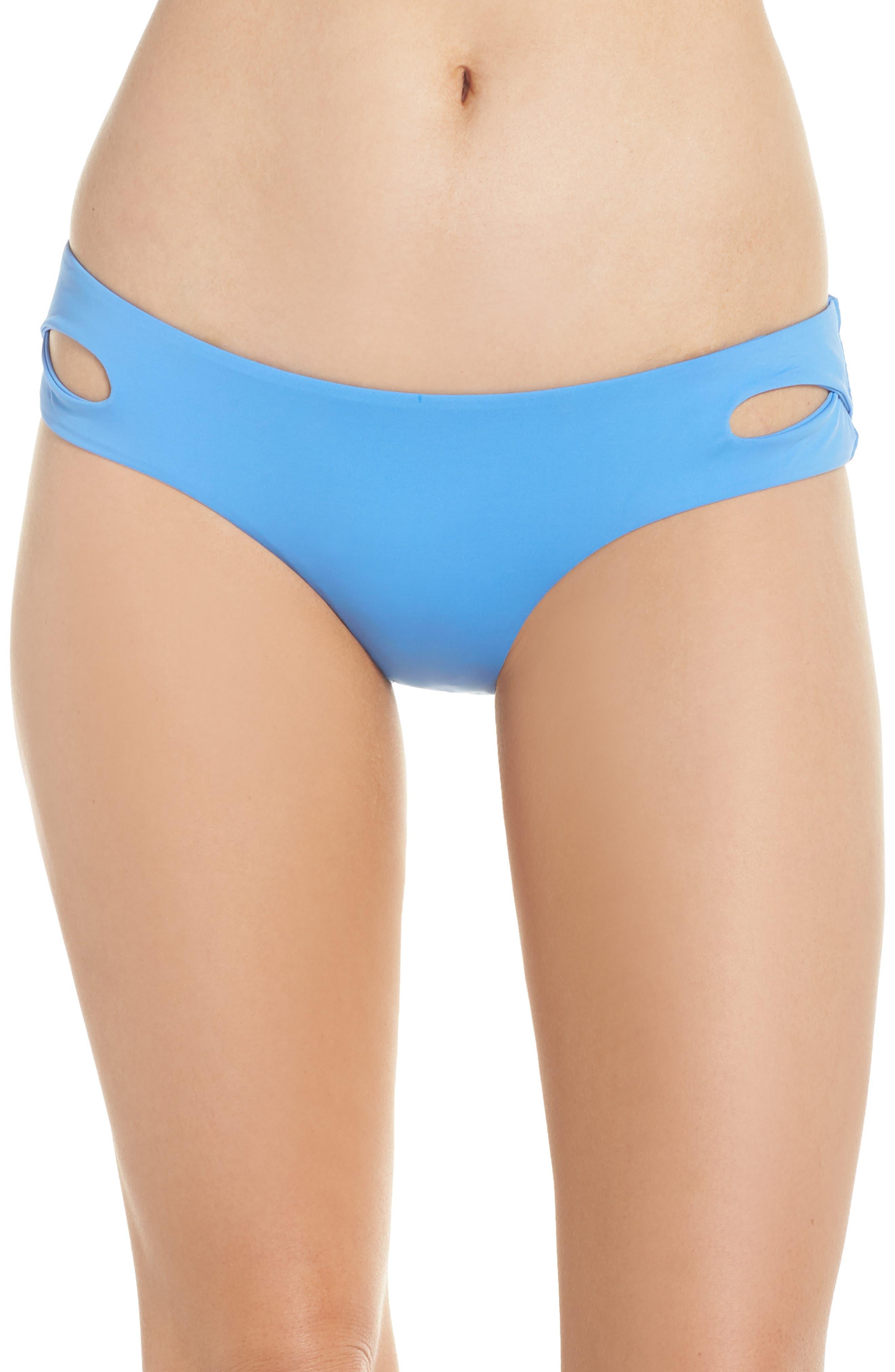 Color Code Hipster Bikini Bottoms,                         Main,                         color, SKYLIGHT